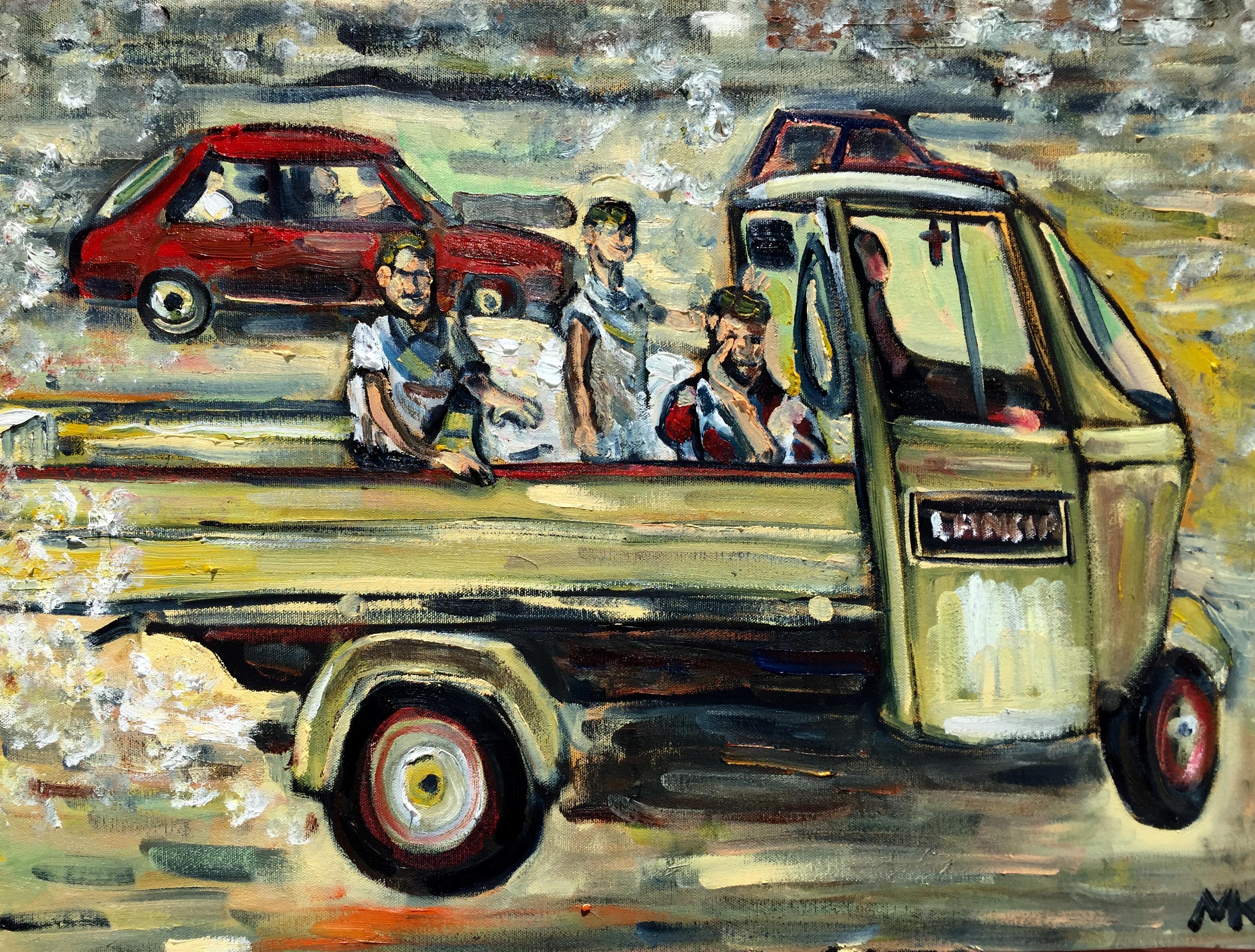 Fond Du0027écran : La Peinture, Rue, Italie, Enfants, Voiture Ancienne, Naples,  Toile, ART, Peindre, Lancia, Pétrole, Art, Kunst, Artomatic, Design  Automobile, ...
