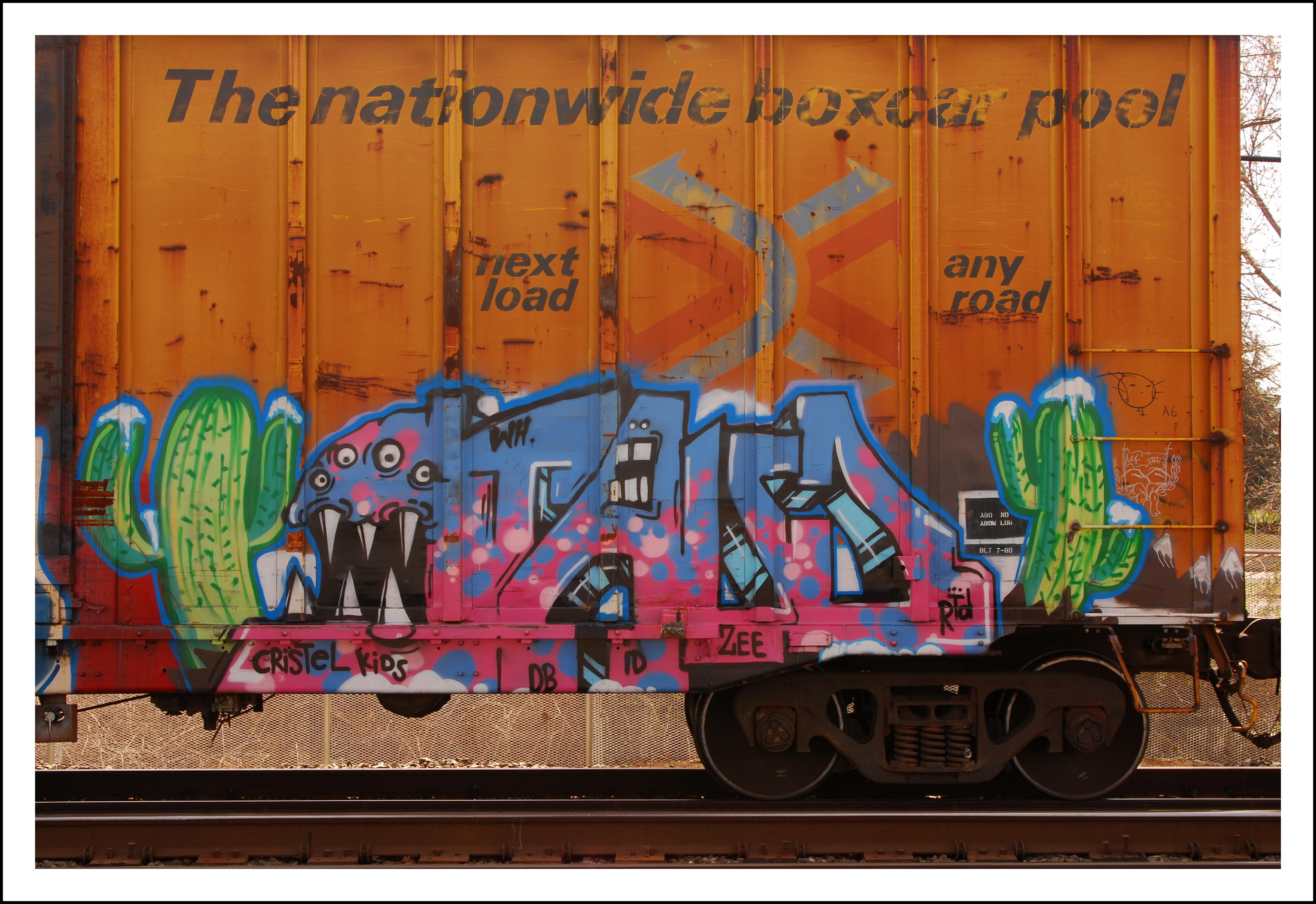 Wallpaper : kendaraan, melatih, burung hantu, coretan, seni