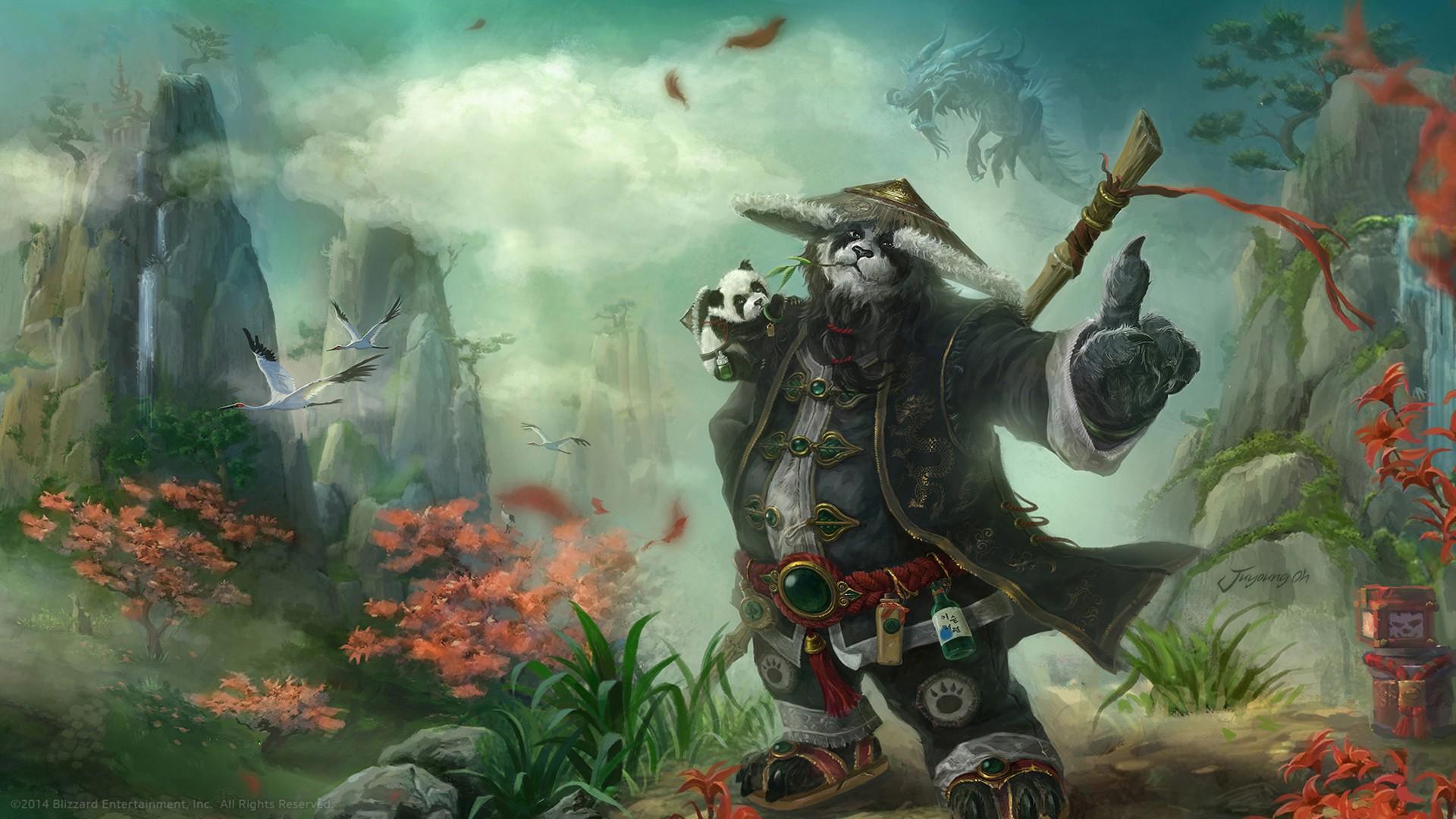 Jungle Wallpaper World Of Warcraft: Wallpaper : Painting, Video Games, World Of Warcraft