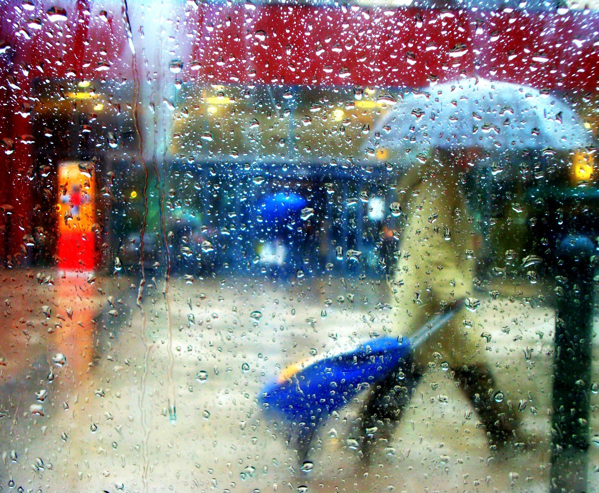 Masaustu Boyama Su Yagmur Resim Kamera Mavi Sony Sanat
