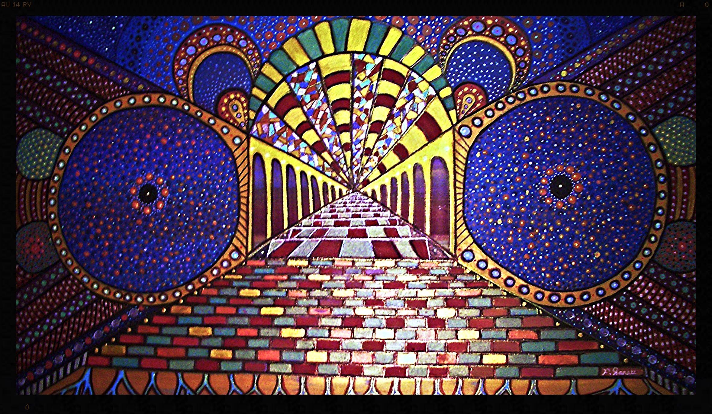 Masaüstü Boyama Pencere Gökada Gökyüzü Yıldızlar Simetri
