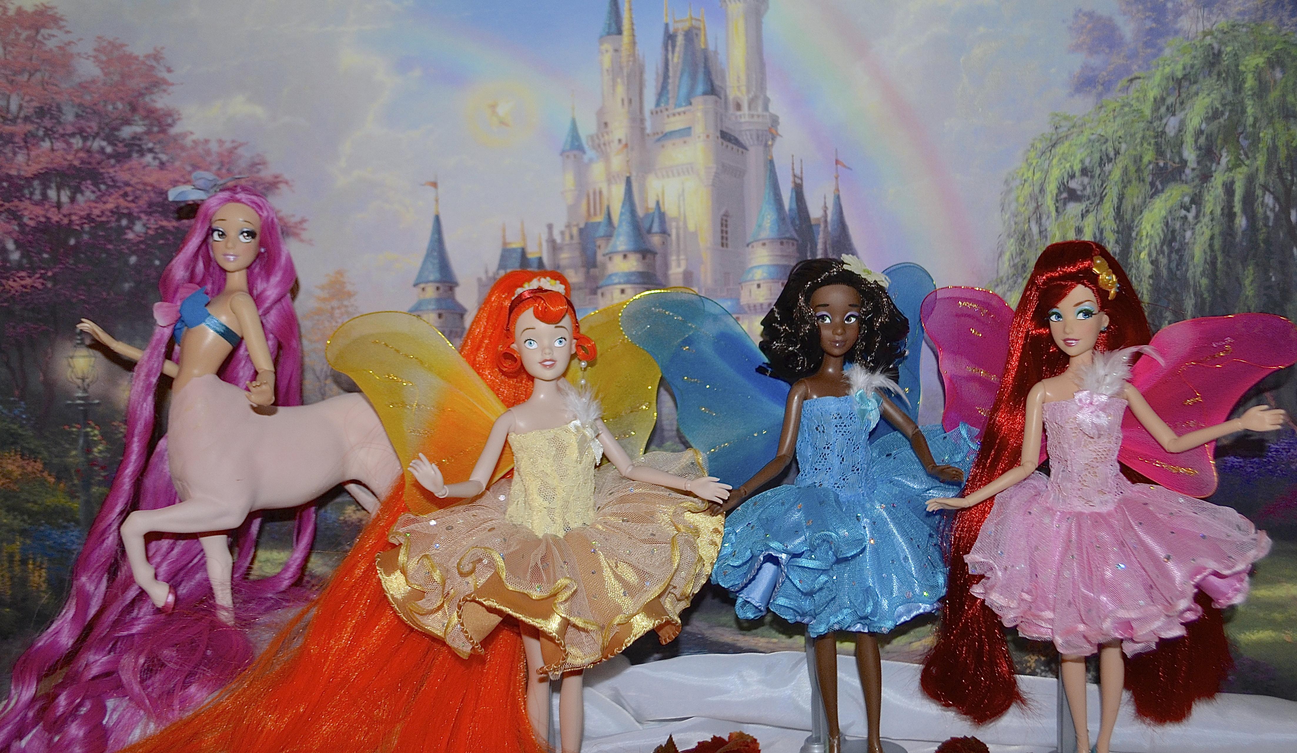 Masaüstü Boyama Kanatlar Prenses Elsa Alice Pocahontas