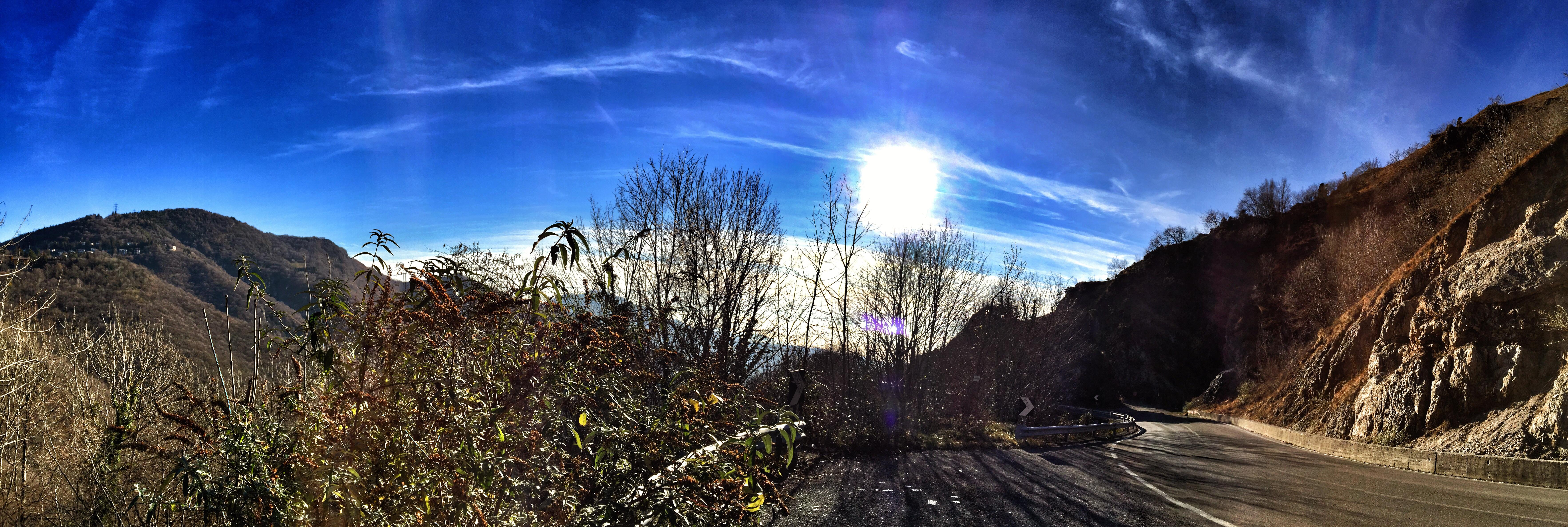 Sfondi Panorama Montagna Mela Italia Natale I Phone Selvino