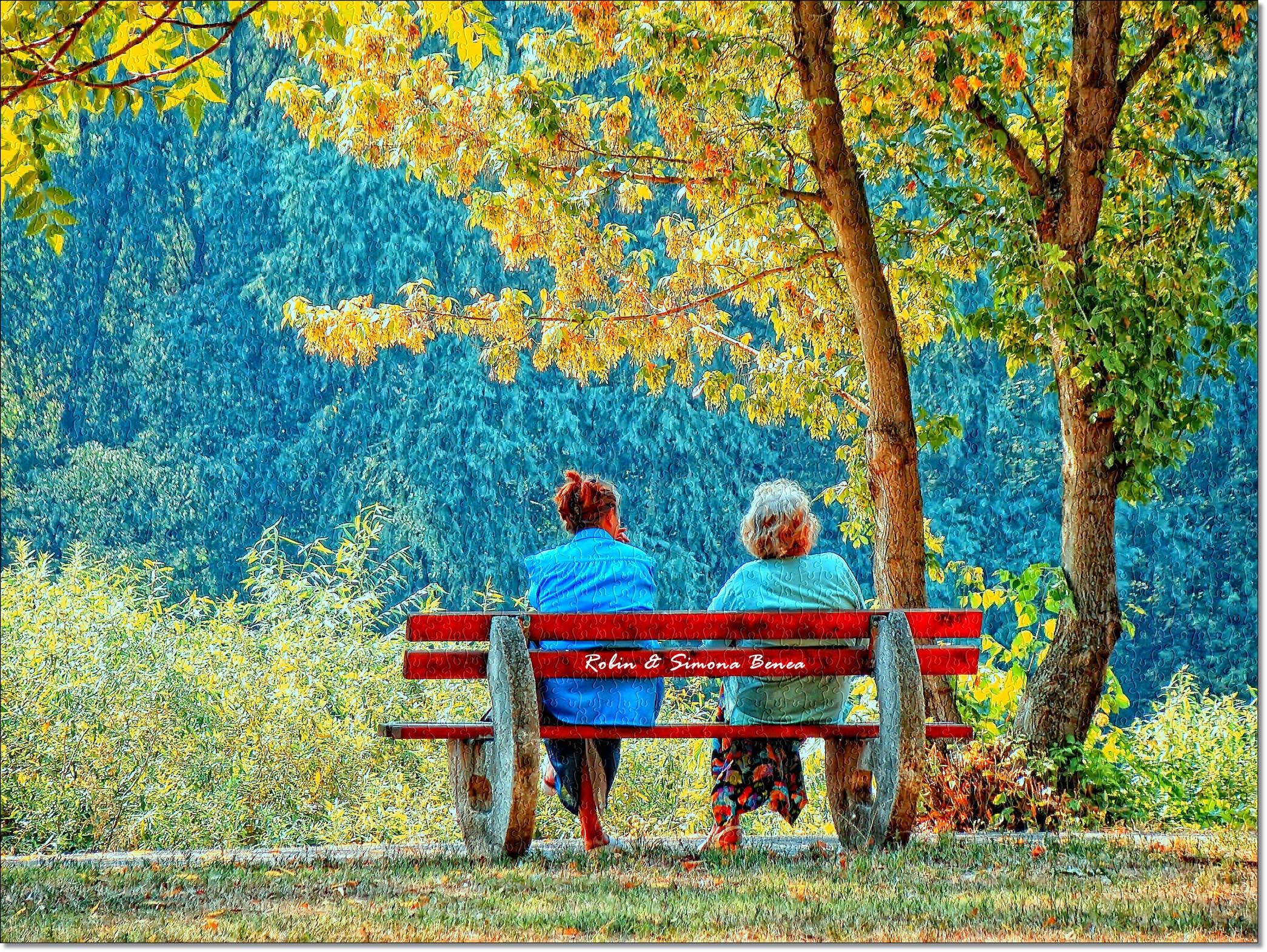 Baggrunde : parkere, efterår, mennesker, træ, natur, blad ...