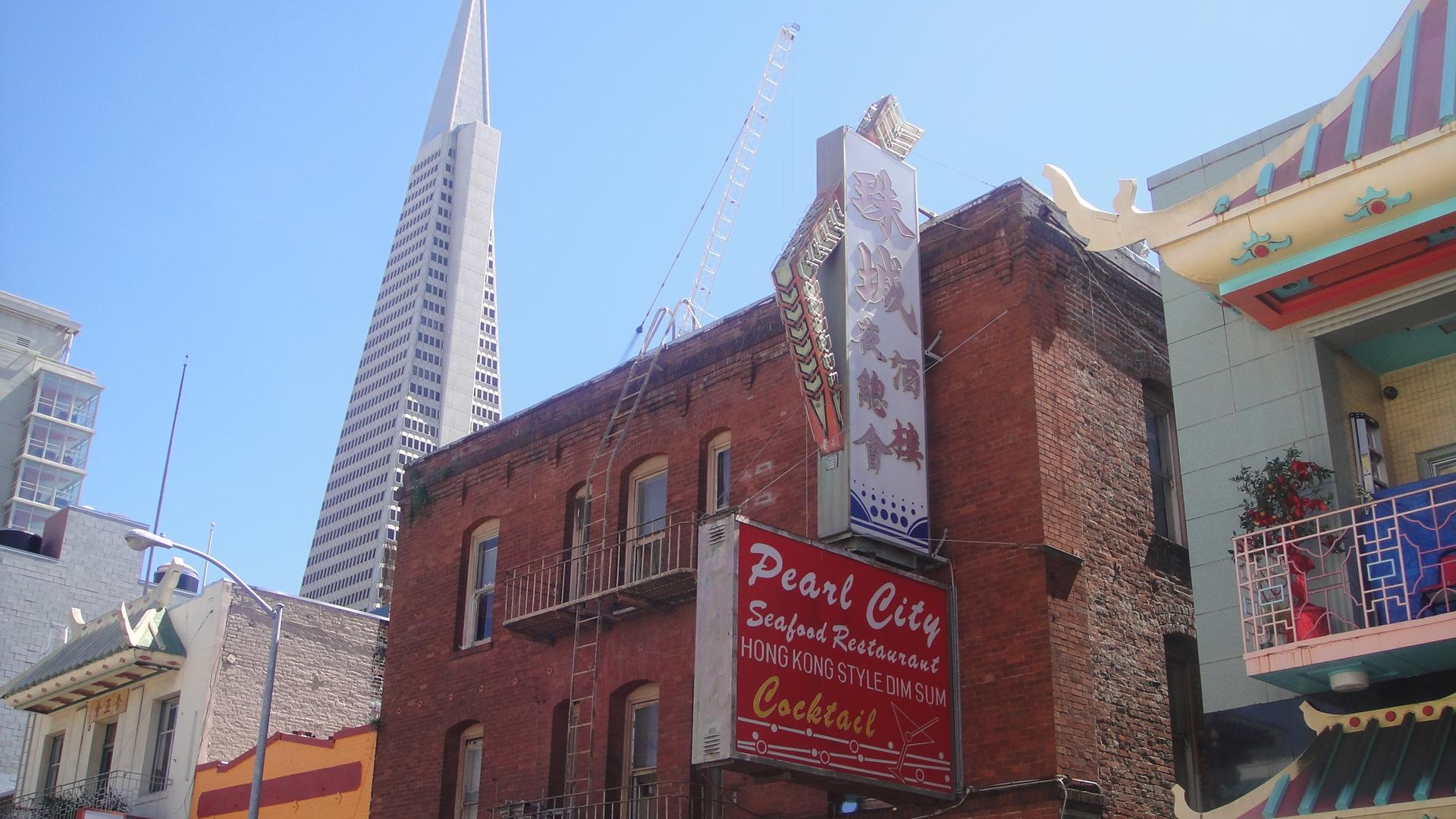 Wallpaper : pearl city, China Town, San Francisco, California, USA