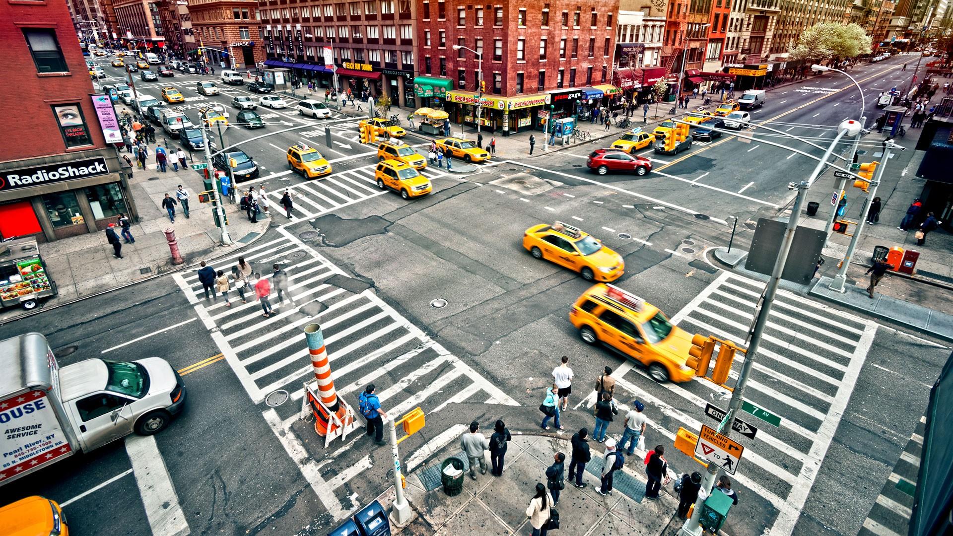 Car Race Track In New York