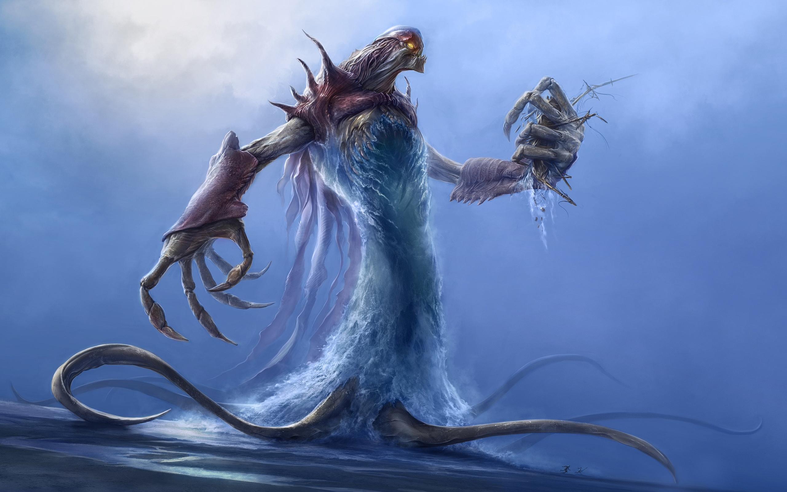 People Ship Sea Dragon Demon Mythology Sketch Screenshot Fictional Character Mythical Creature Destroying