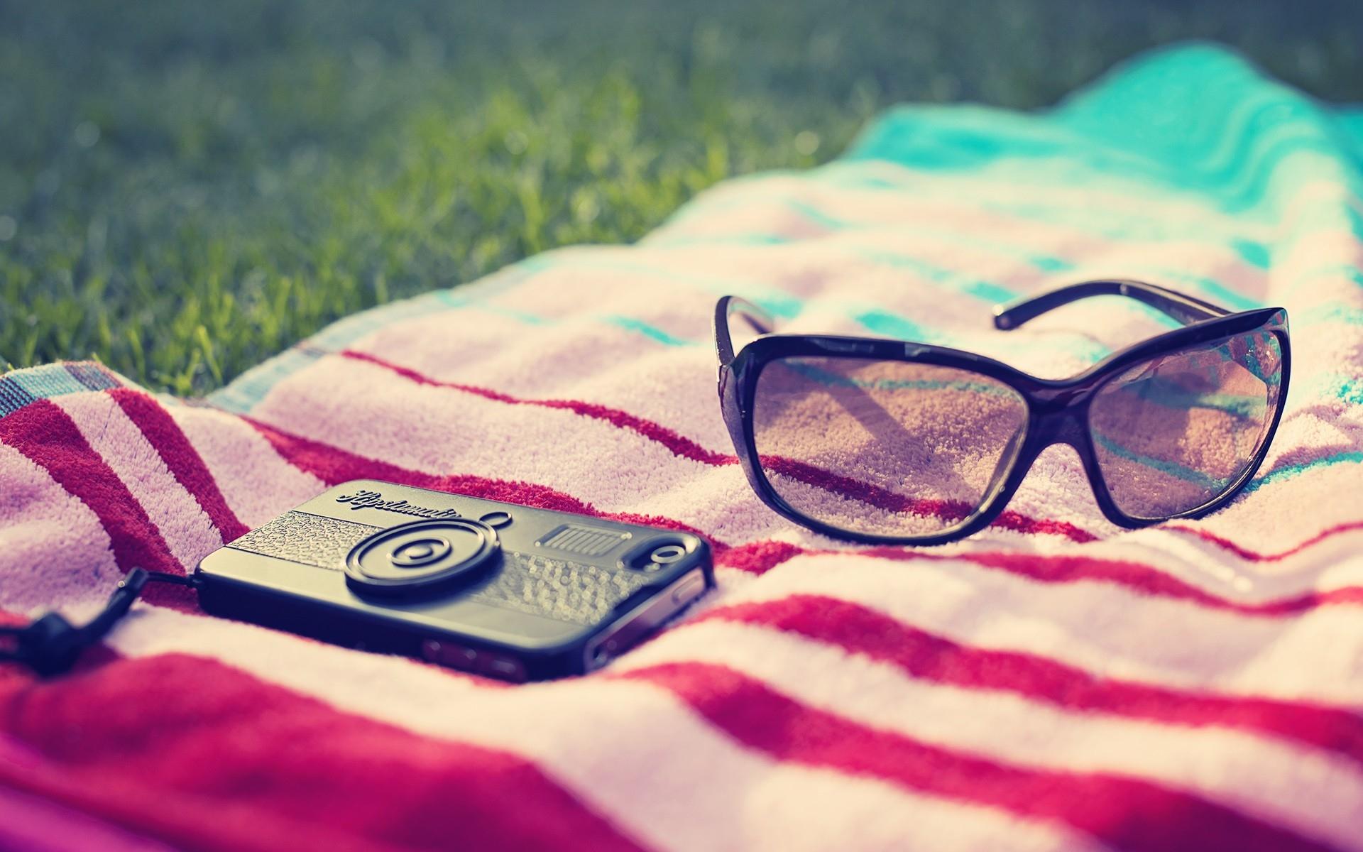 Sfondi Telefono Bicchieri Asciugamani Estate Spiaggia