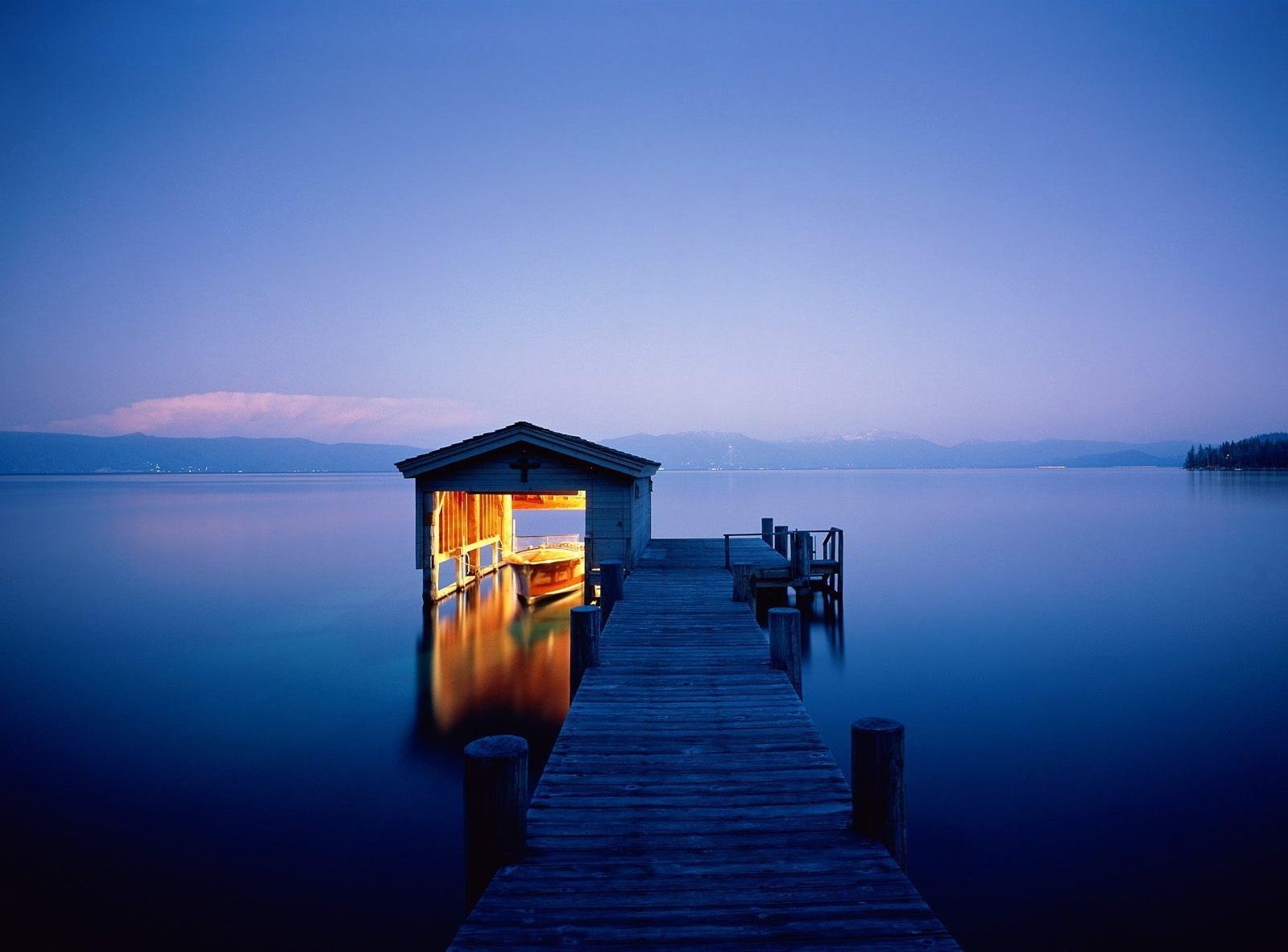 Hintergrundbilder : Seebrücke, Nacht-, Boot, Beleuchtung, Festmachen ...