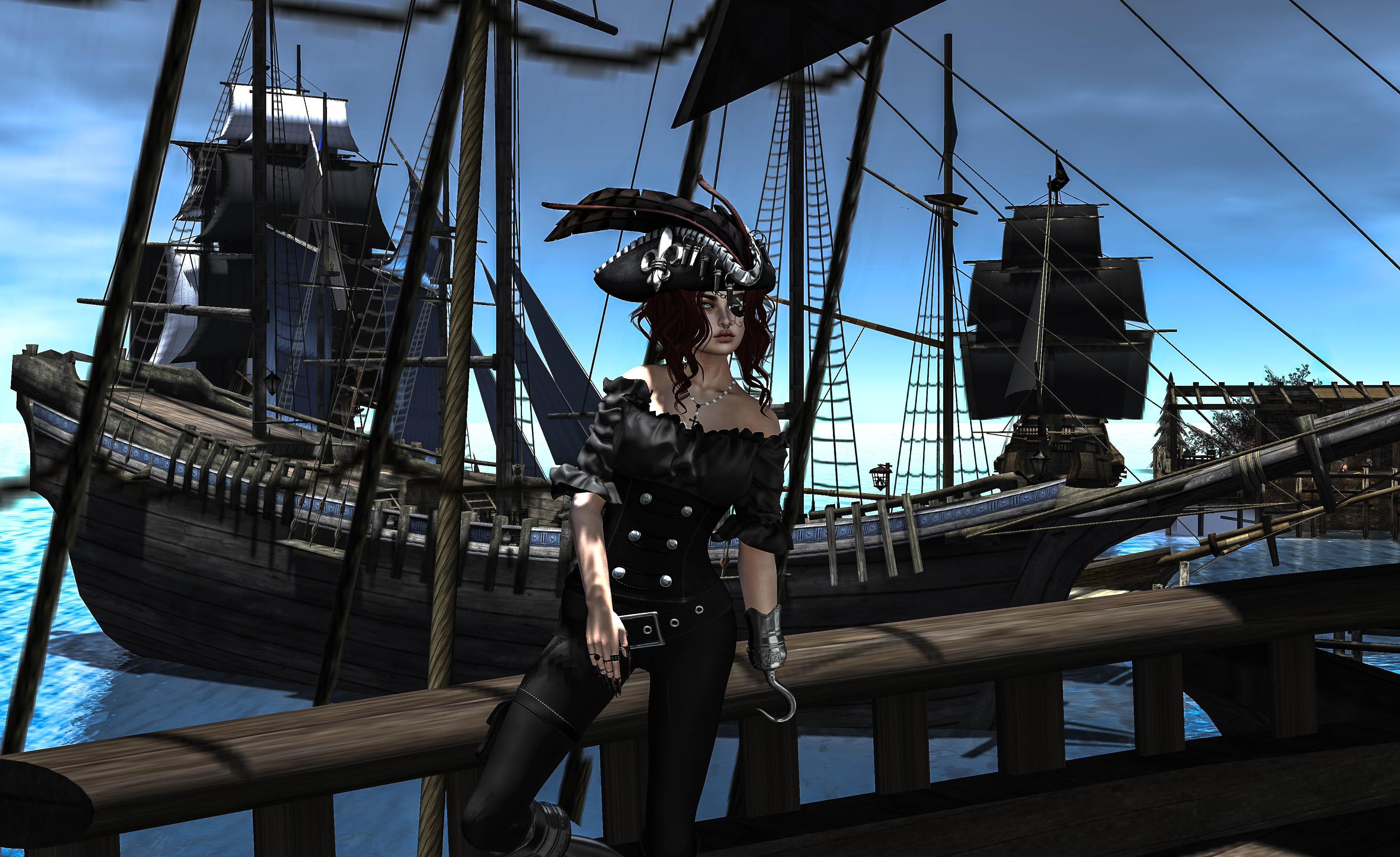 Relativ Hintergrundbilder : Piraten, Schiffe, Kapitän, Haken, Ahoi IQ39