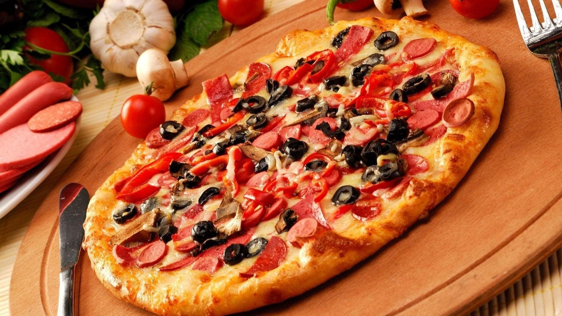 Pizza Batch Knife Fork