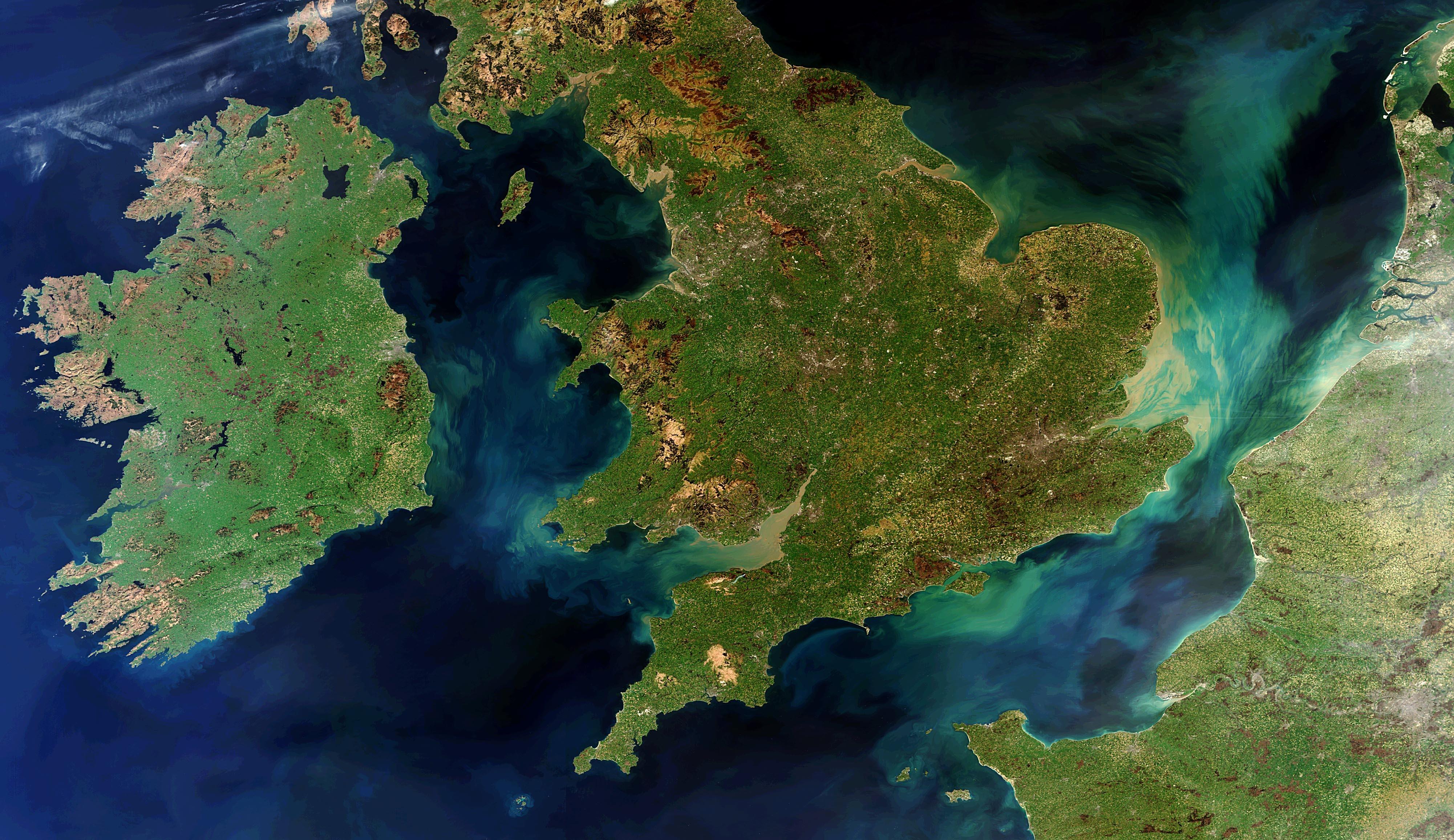 еще картинки ландшафта европы спутник то