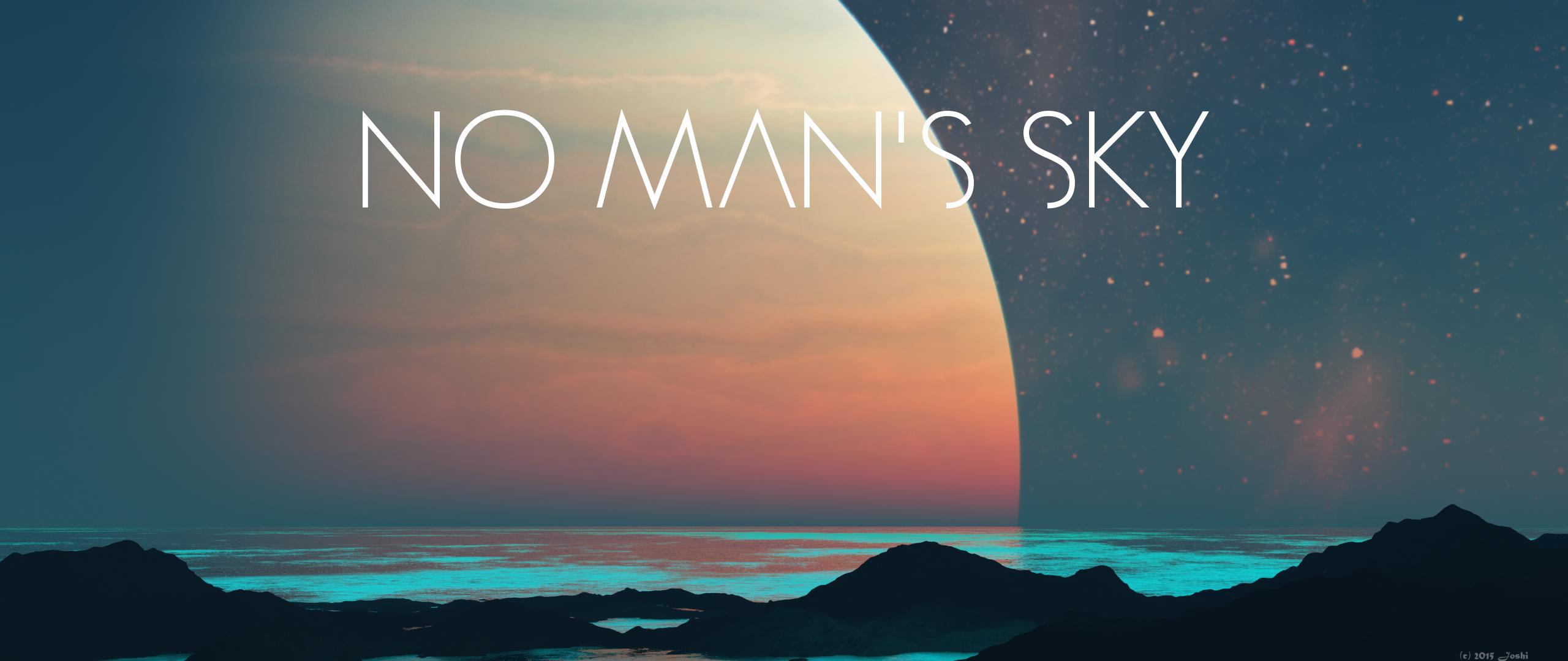 Wallpaper Planet Agua Azul No Man S Sky 2560x1080 Tobestyled