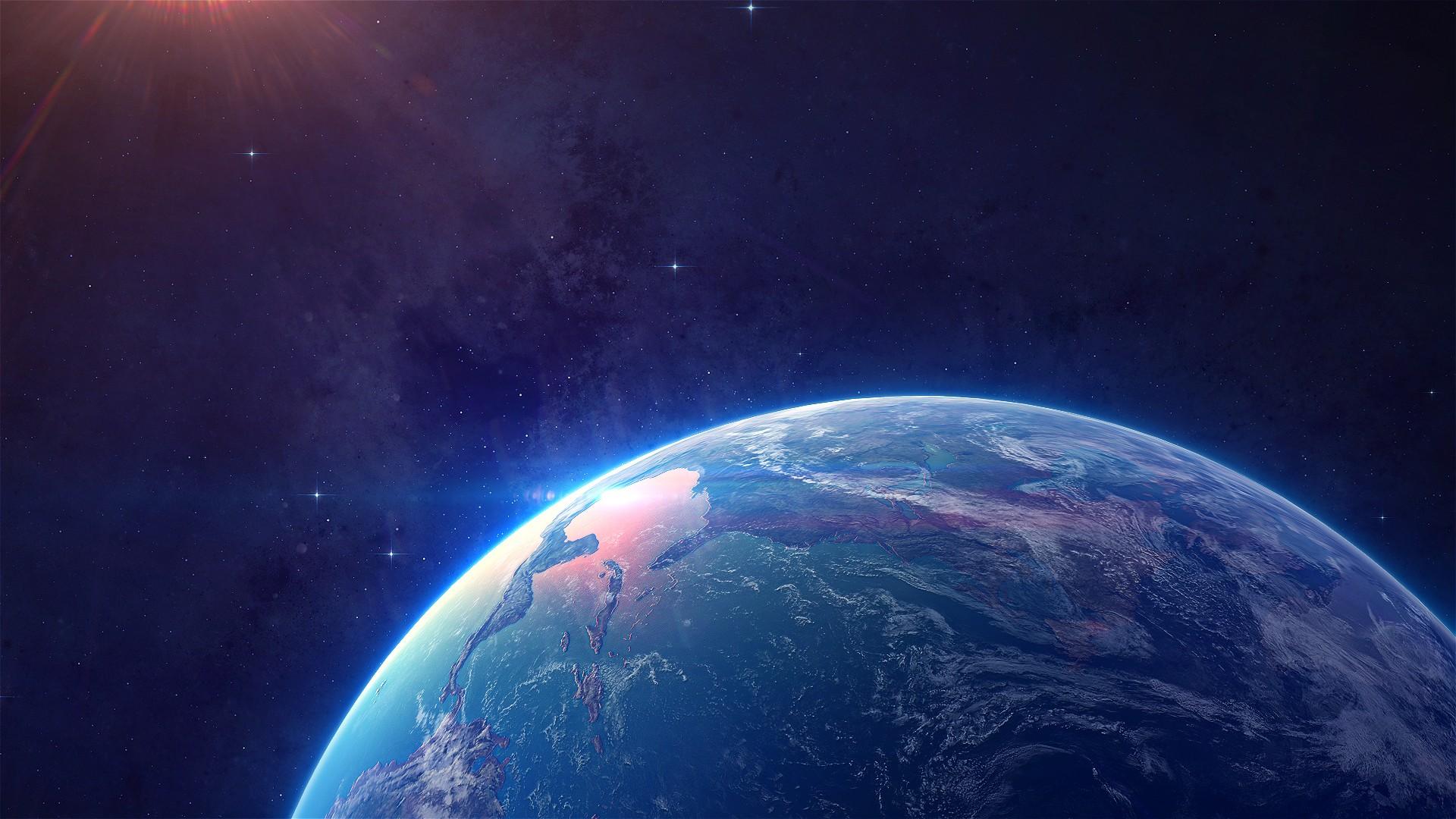 Fondos De Pantalla Planeta Tierra Atmósfera Atmósfera