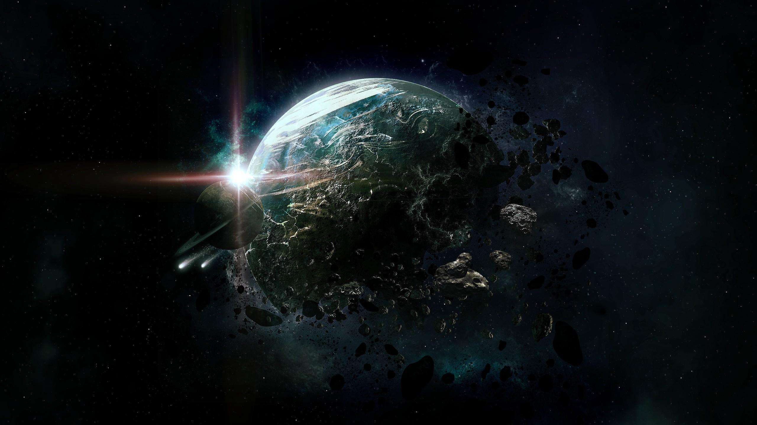 Papel De Parede Planeta Terra Nebulosa Atmosfera Universo  -> Imagens Do Universo Para Papel De Parede