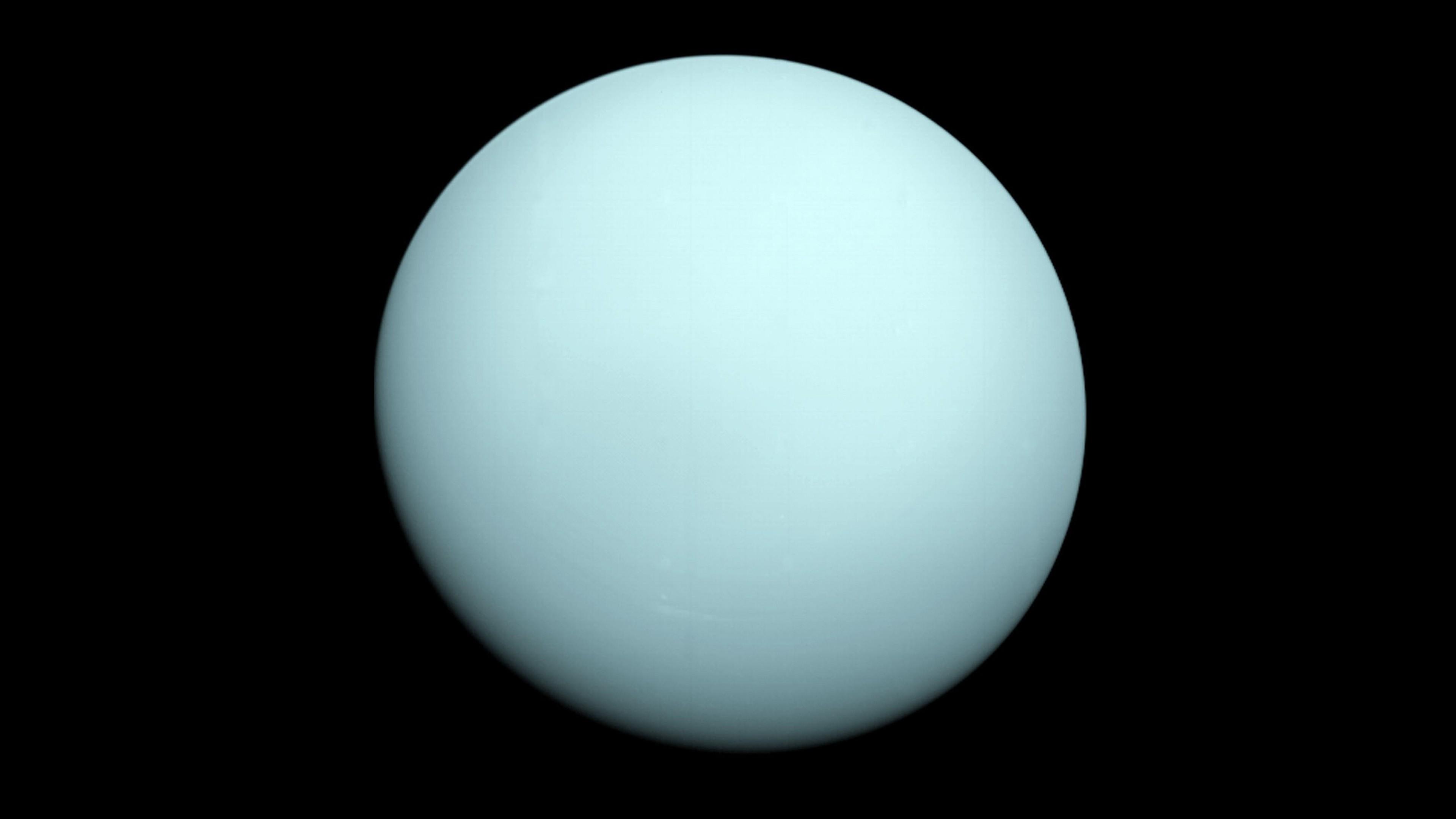 Planet Space Minimalism Sphere Sun Circle Atmosphere Ball Uranus Shape Astronomical Object