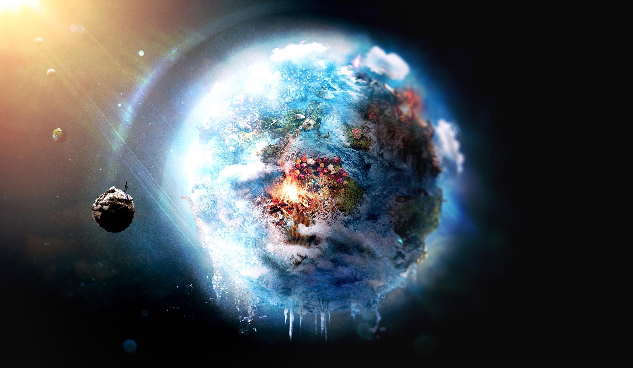 Sfondi pianeta spazio cielo terra nebulosa mondo for Immagini 3d hd
