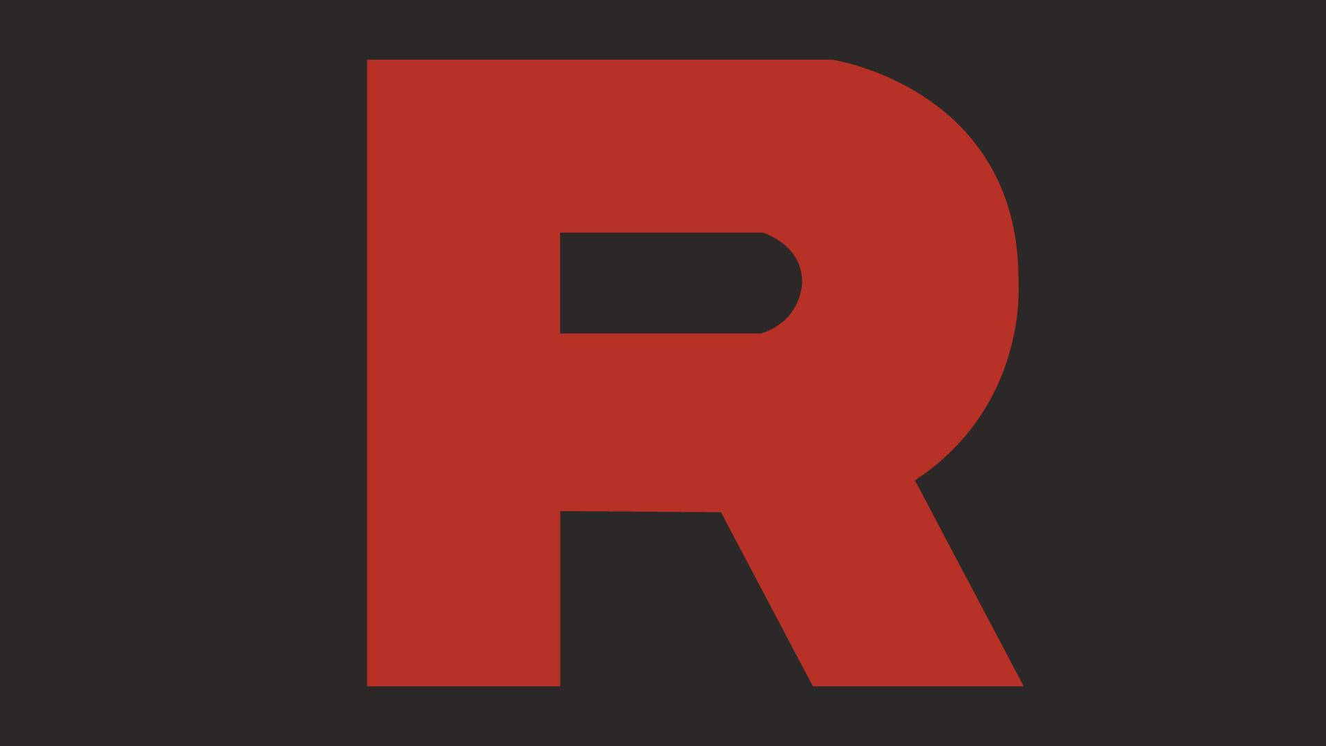 Wallpaper Pokemon Team Rocket Logo 1920x1080 Dokkar 1265271