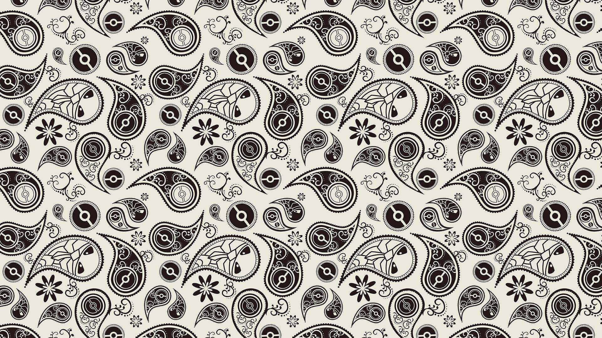 Wallpaper Pokemon Tile Cartoon Pattern 1920x1080
