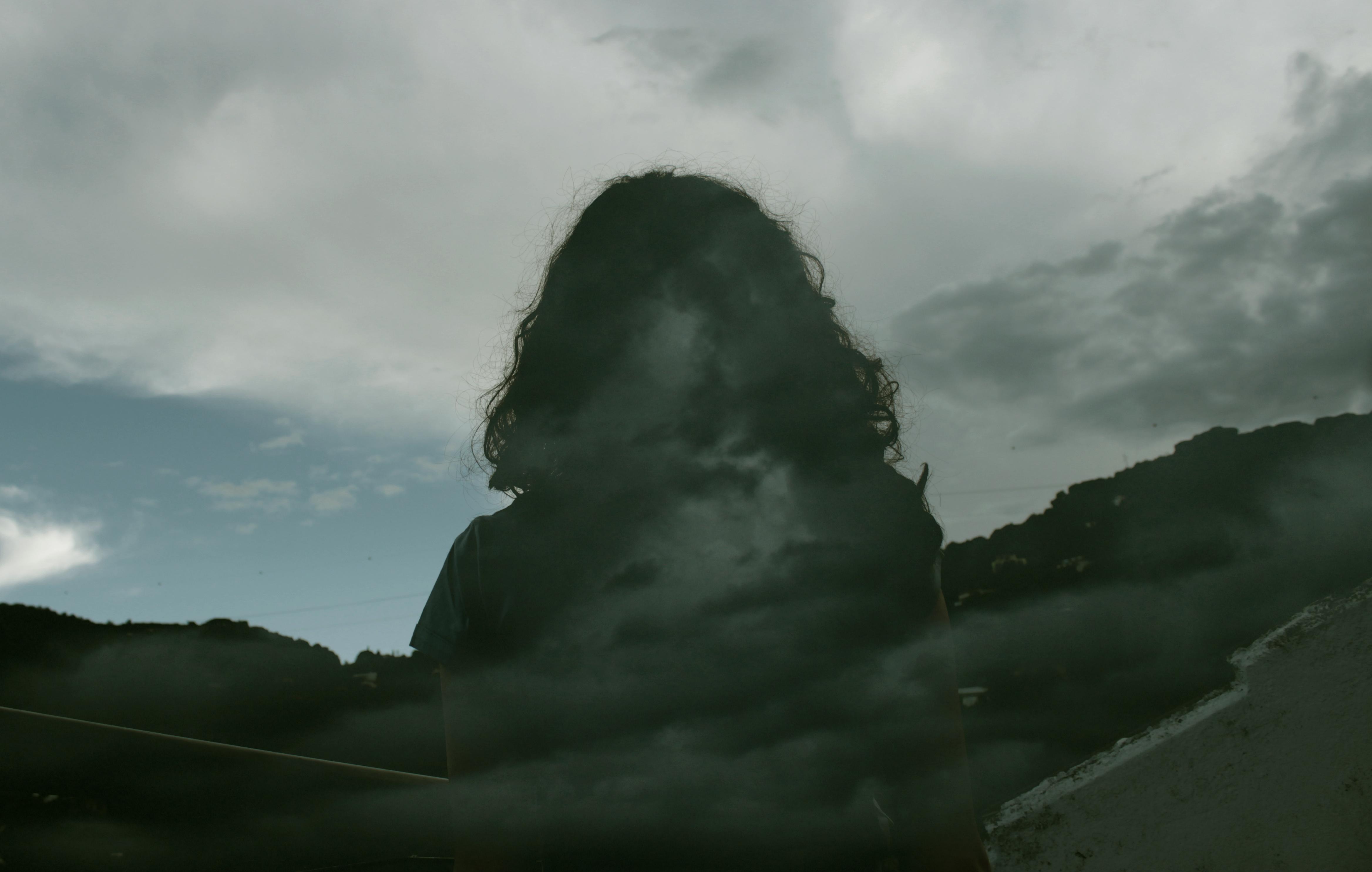 Sfondi Ritratto Nube Tempesta Ragazza Nuvole Digitale
