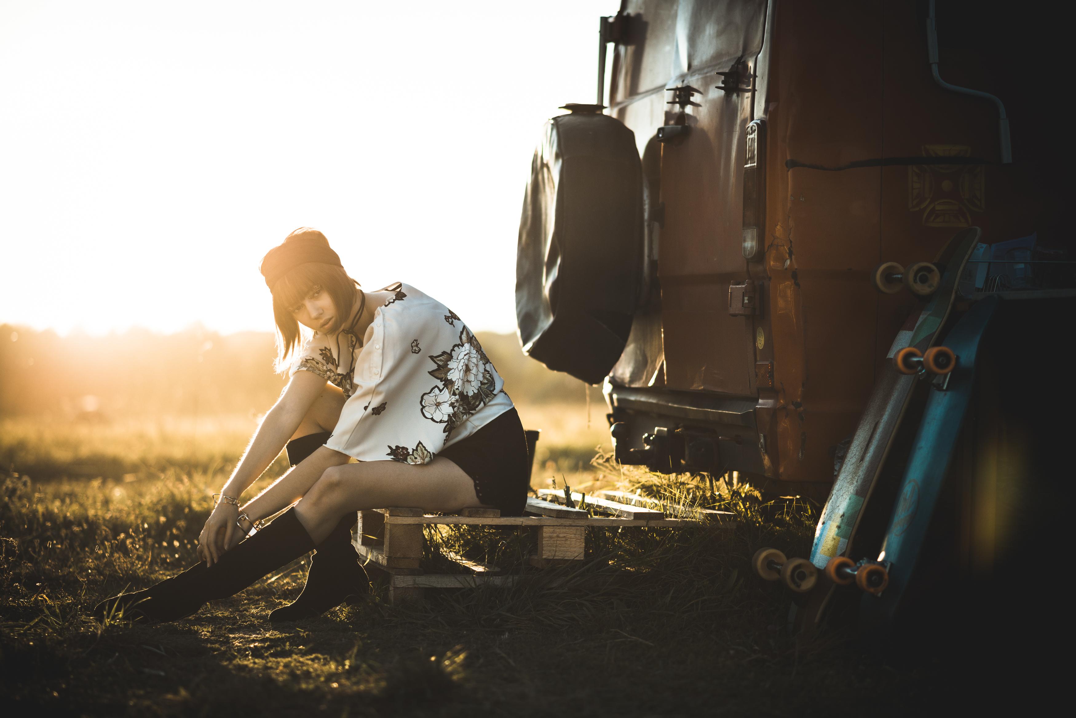 portrait sunset nature car photography fashion owl Van skate girl photo caravan photograph Sense picture passion