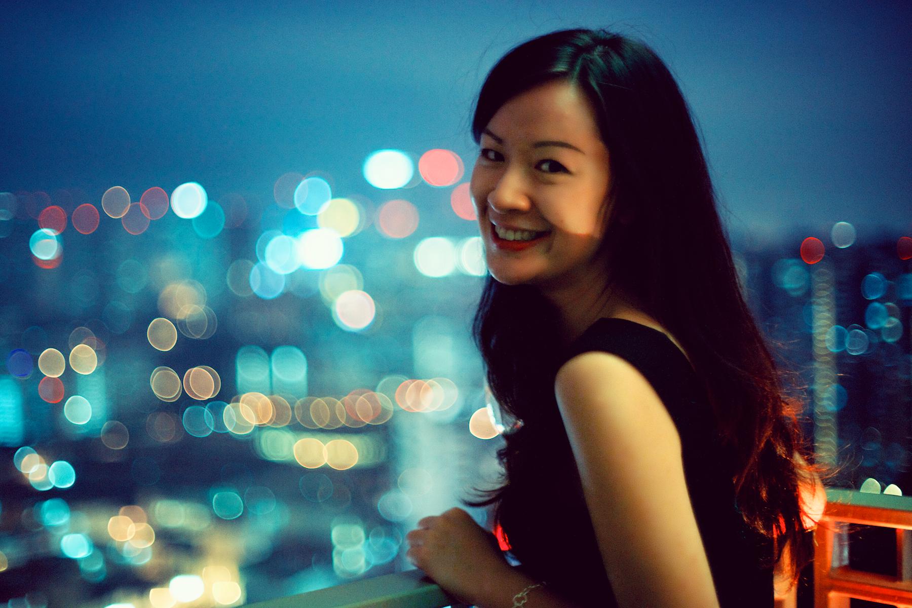 portrait woman girl beautiful smiling skyline night 50mm lowlight Nikon Singapore bokeh nikkor F12 nikkor50mmf12 nikkor50mmf12ais  sc 1 th 183 & Wallpaper : portrait woman girl beautiful smiling skyline ...