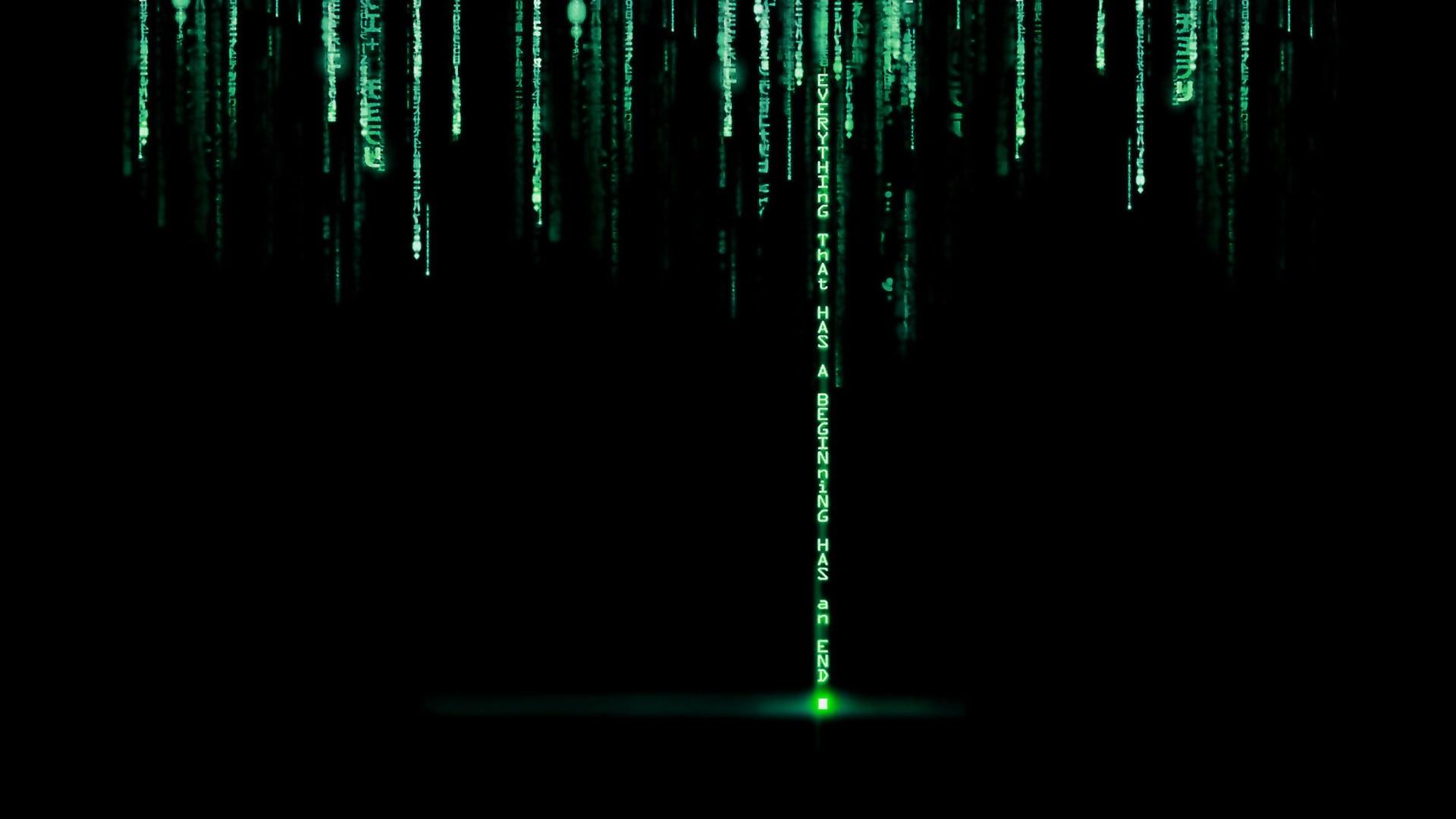 Fond D écran Citation Nuit Films Vert La Technologie
