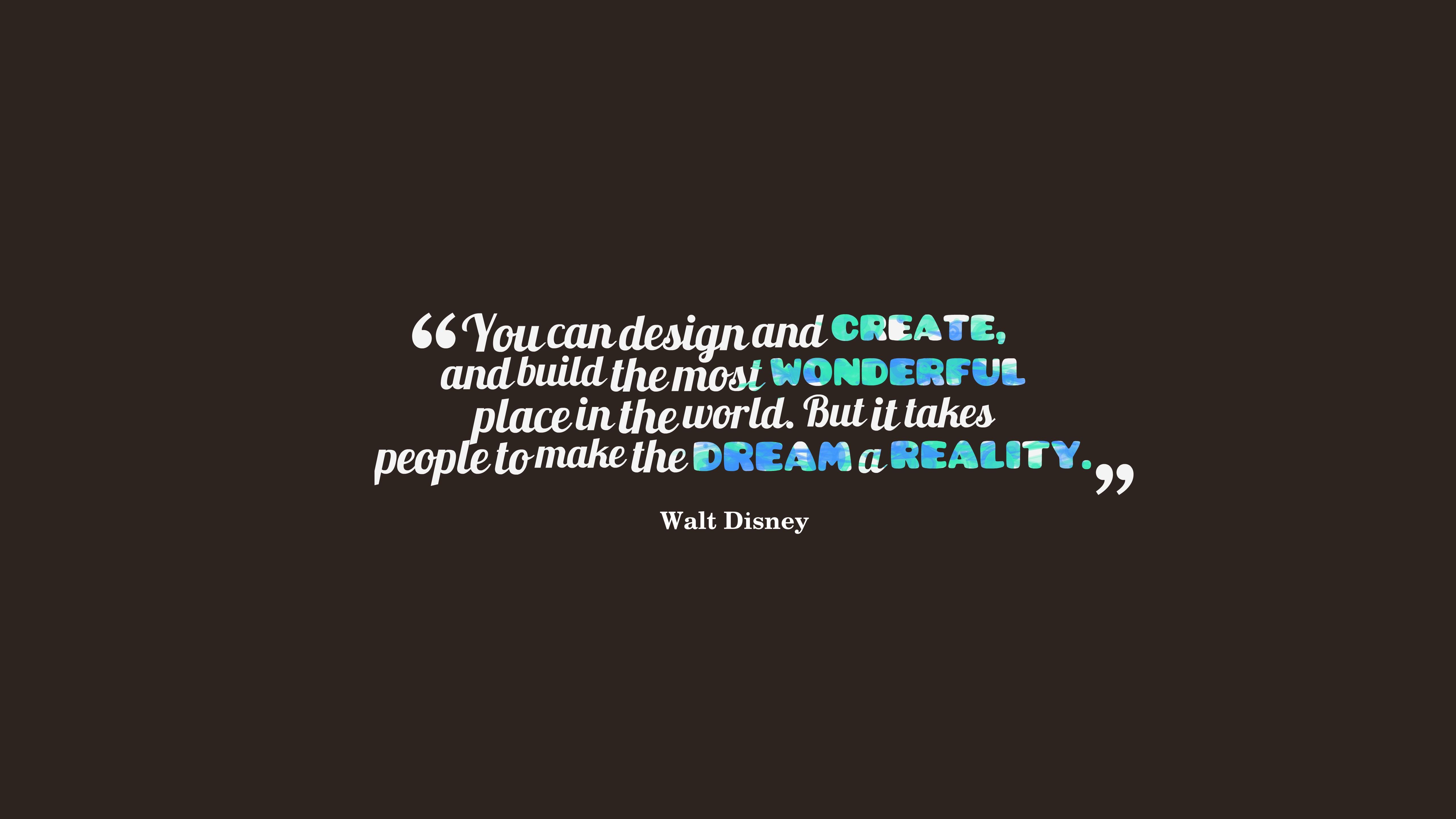 Fond D écran Citation Typographie Texte Logo Walt