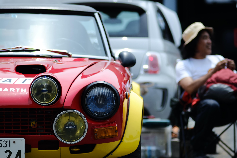 Wallpaper Race Fiat Abarth Fiat124 Xt1 Sonnar135mm