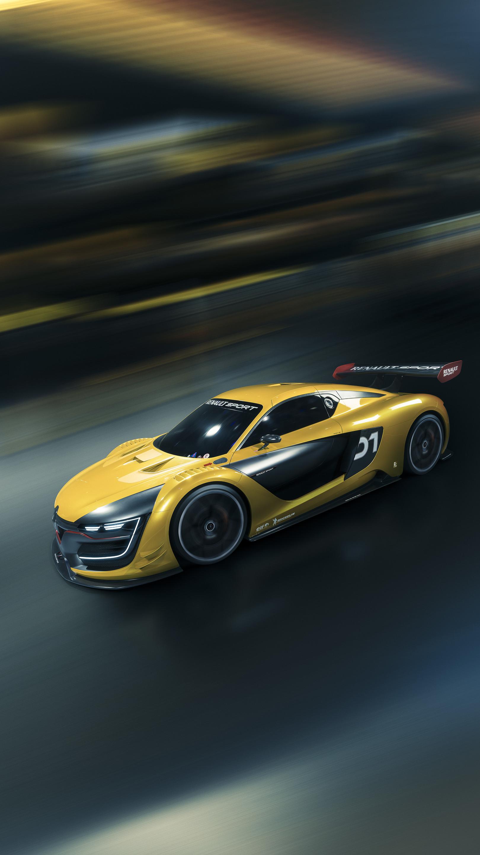 Wallpaper Race Cars Portrait Display Porsche Sports Car Motion