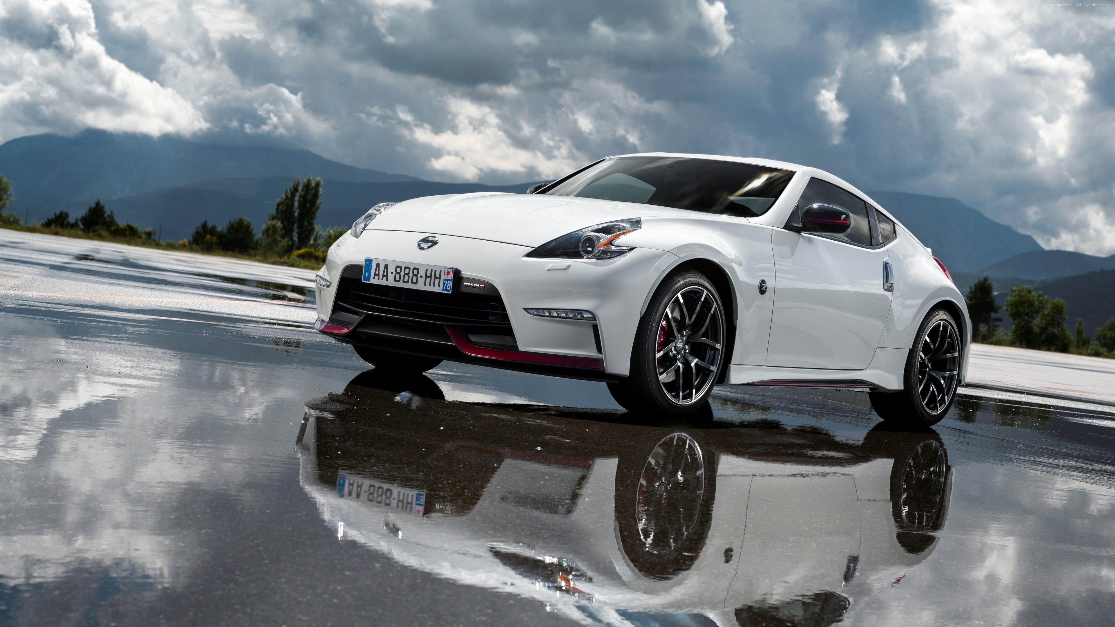 Wallpaper Race Cars Sports Car Nissan 370z Coupe Nismo Wheel