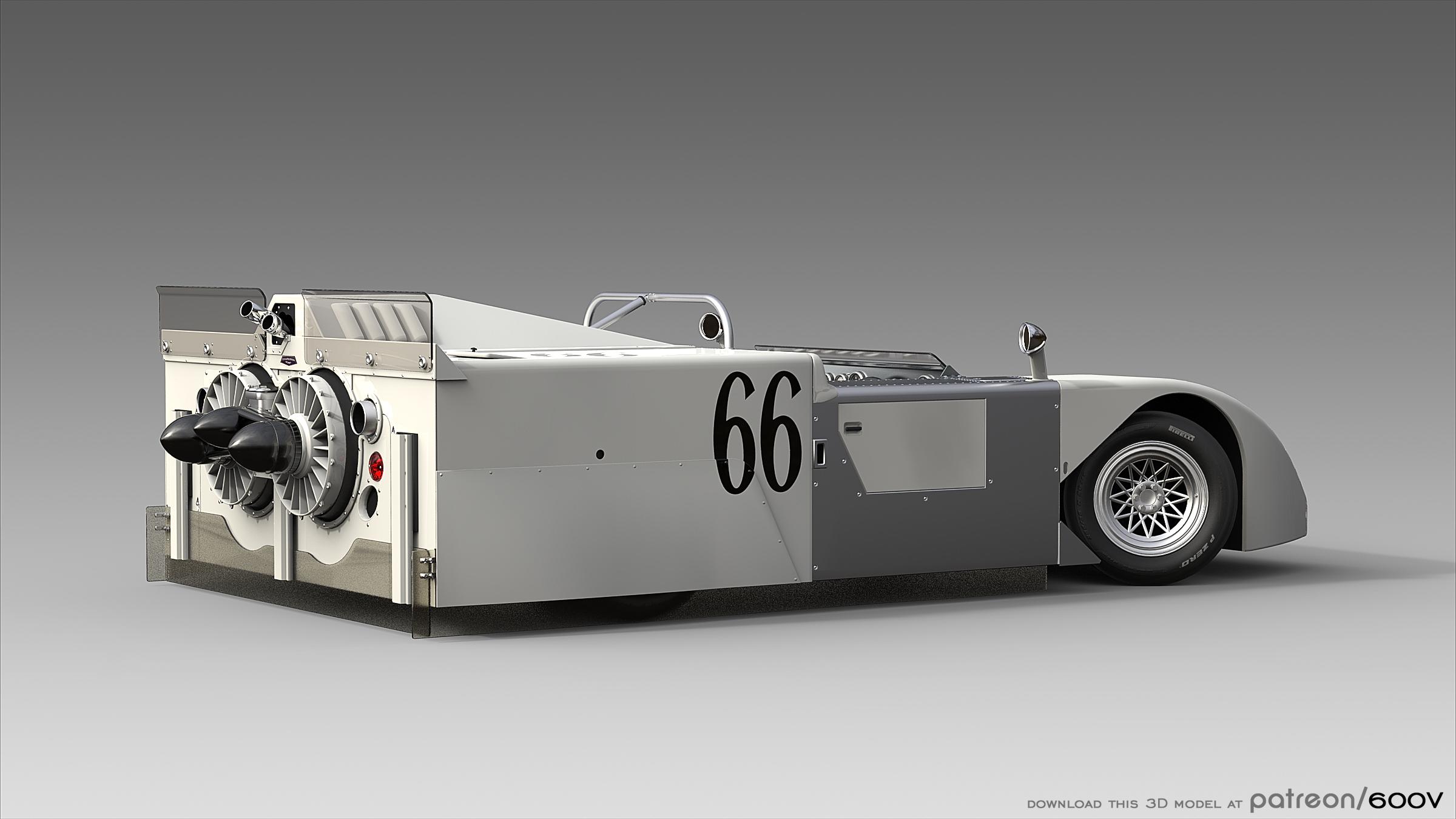 Wallpaper : race cars, old car, sports car, 600v, Chaparral, 2J ...