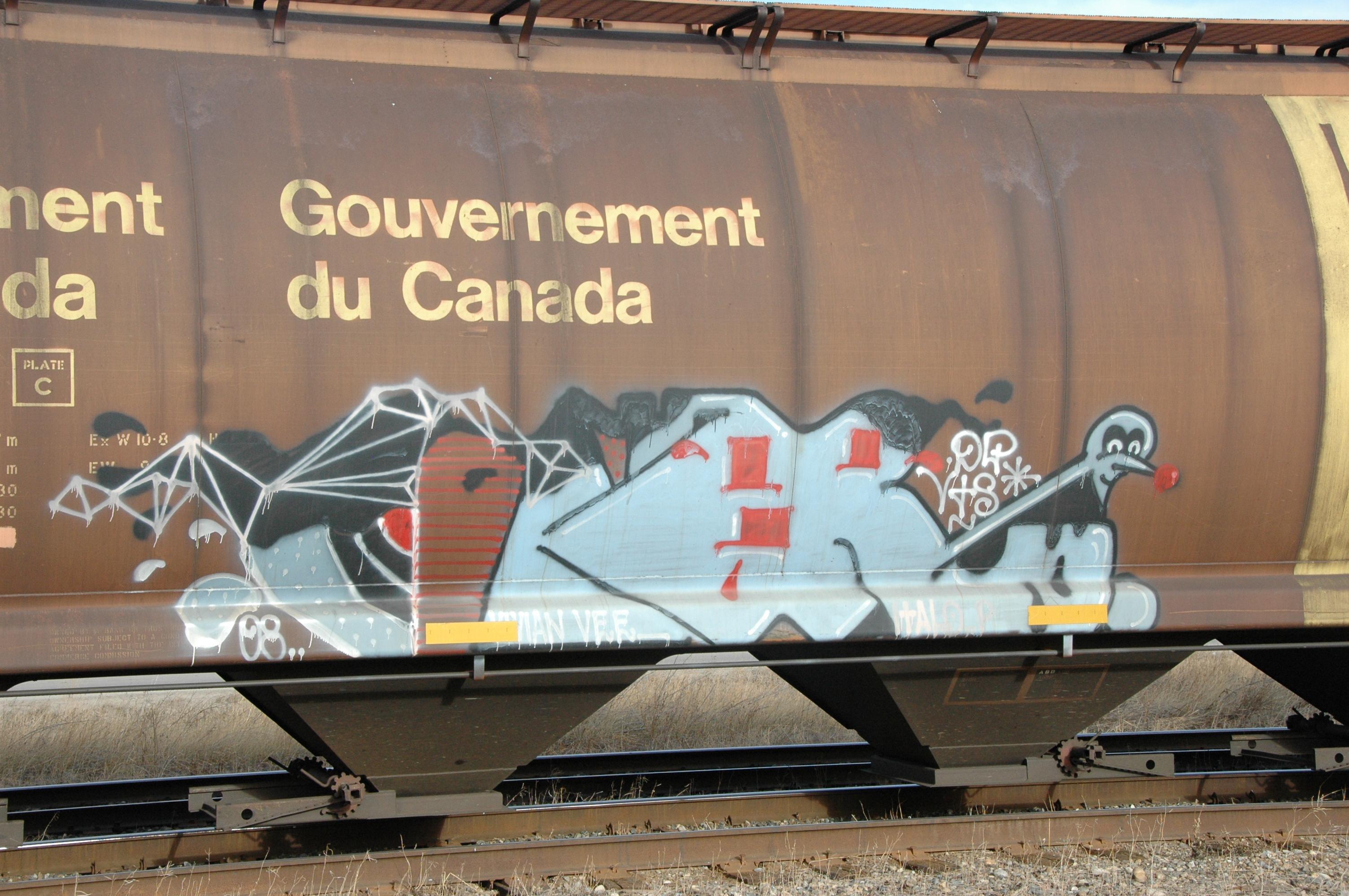 Masaustu Demiryolu Kanada Sanat Tren Fotograf Duvar Yazisi