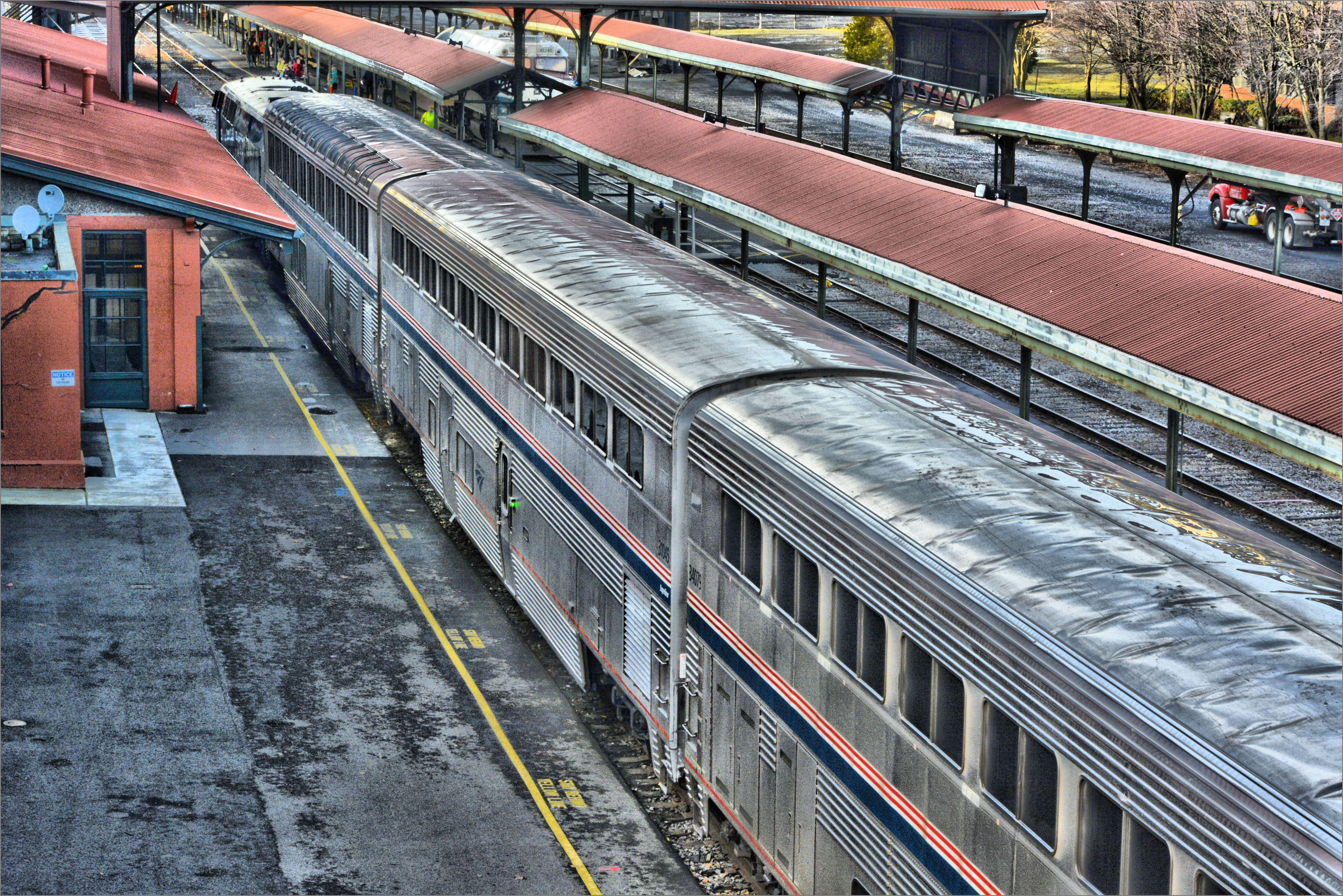 wallpaper railroad travel station train portland tracks