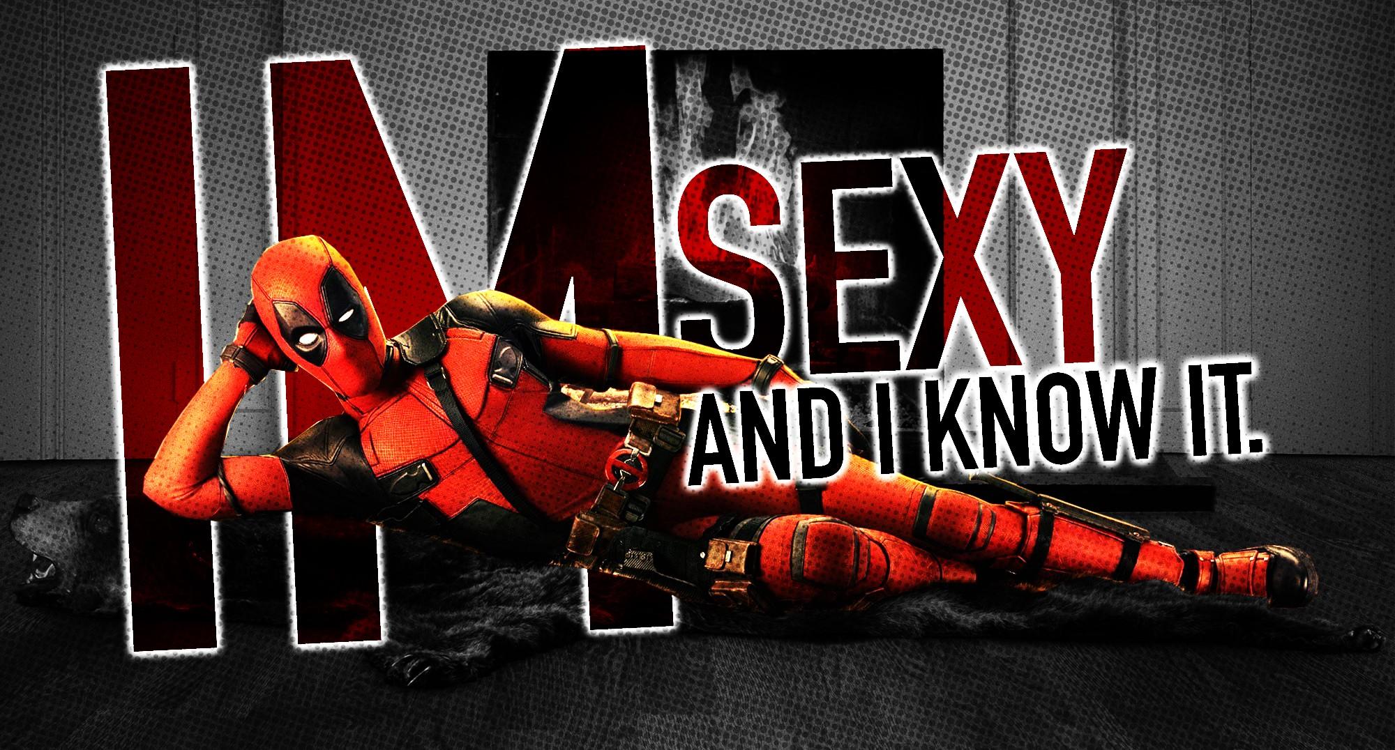 Wallpaper : red, Marvel Comics, Deadpool, poster, Ryan ...