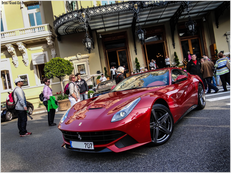 Wallpaper Red Paris Cars Sport De Hotel Ferrari