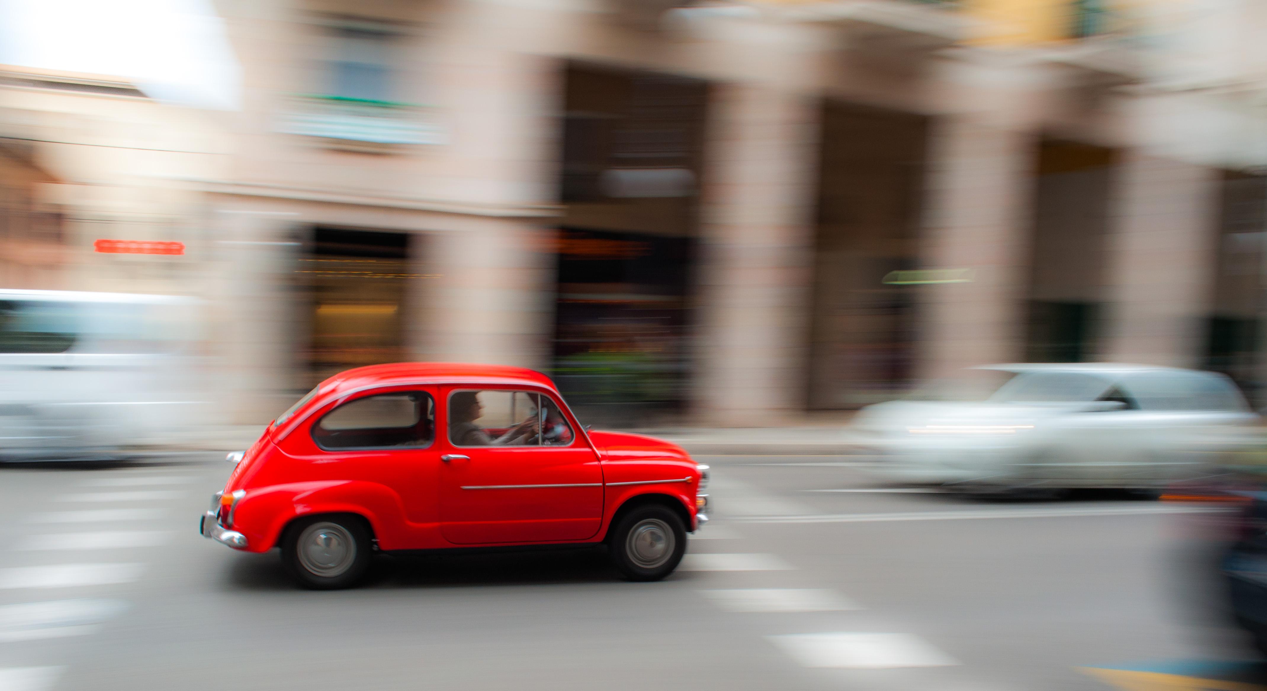 Wallpaper Red Car Rojo Seat Coche 600 Mallorca