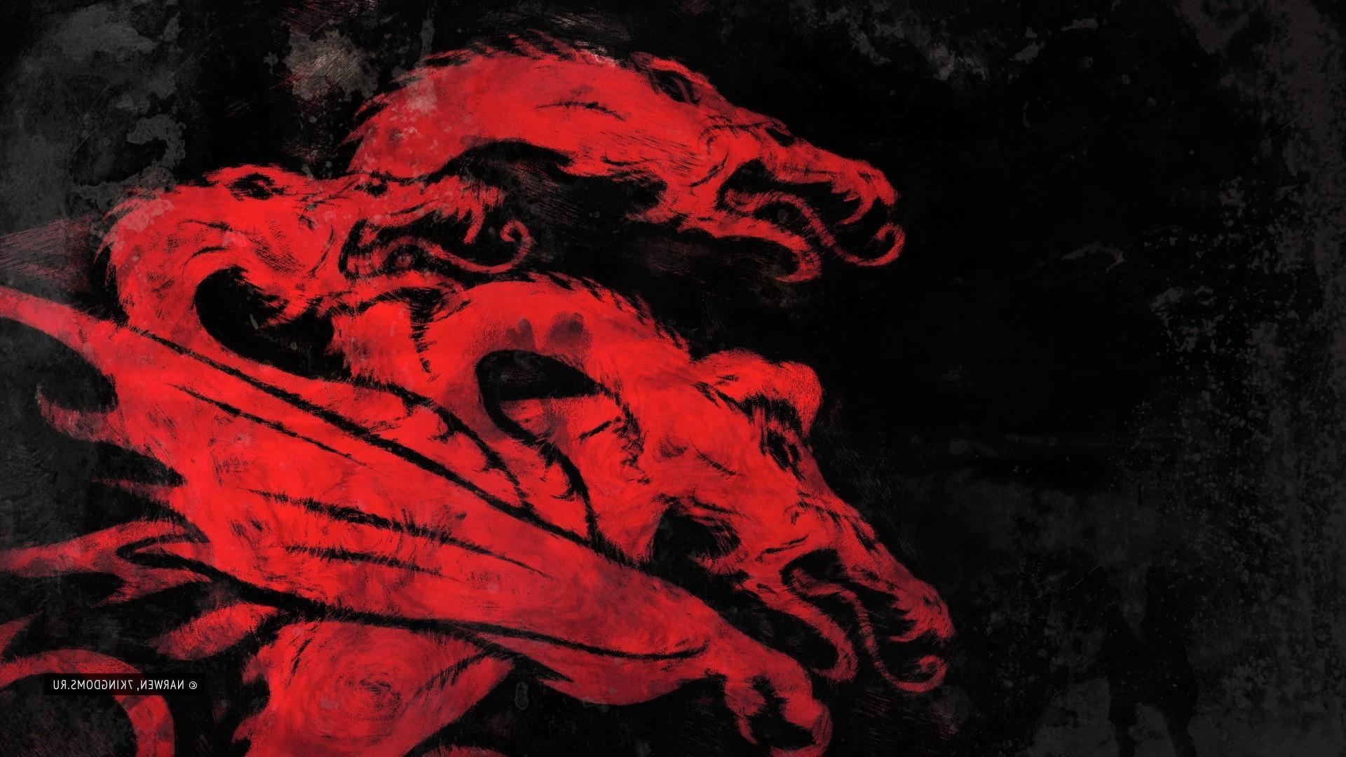 Wallpaper Red Dragon Game Of Thrones House Targaryen