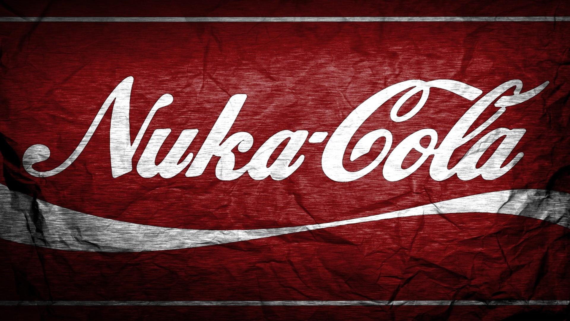 Wallpaper : red, Coca Cola, Nuka Cola, Fallout 4, brand