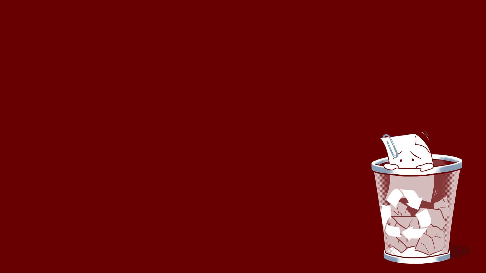 Wallpaper Red Drink Trash Liquid Funny Computer