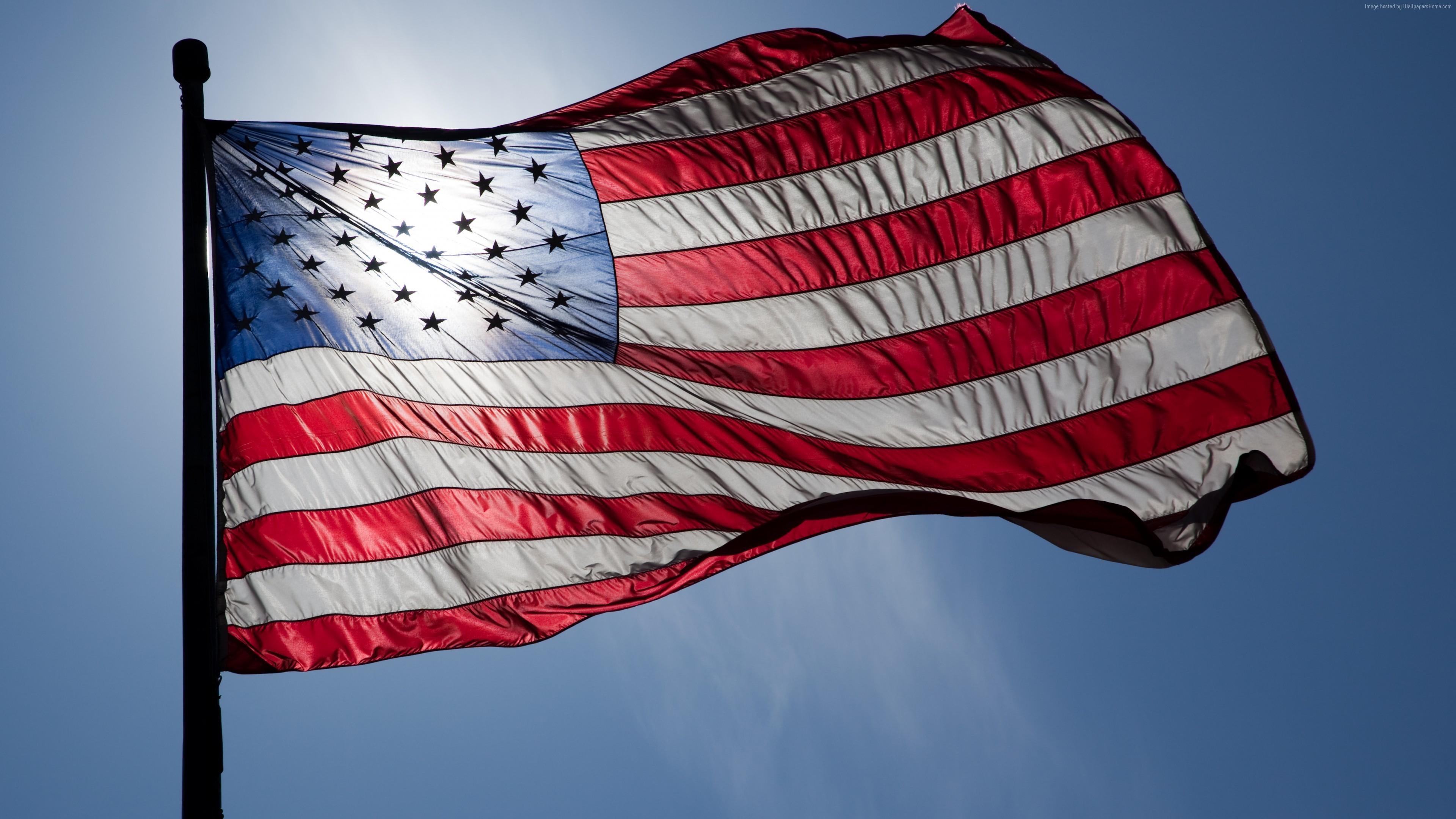Fondos De Pantalla Rojo Bandera Estadounidense Estados Unidos