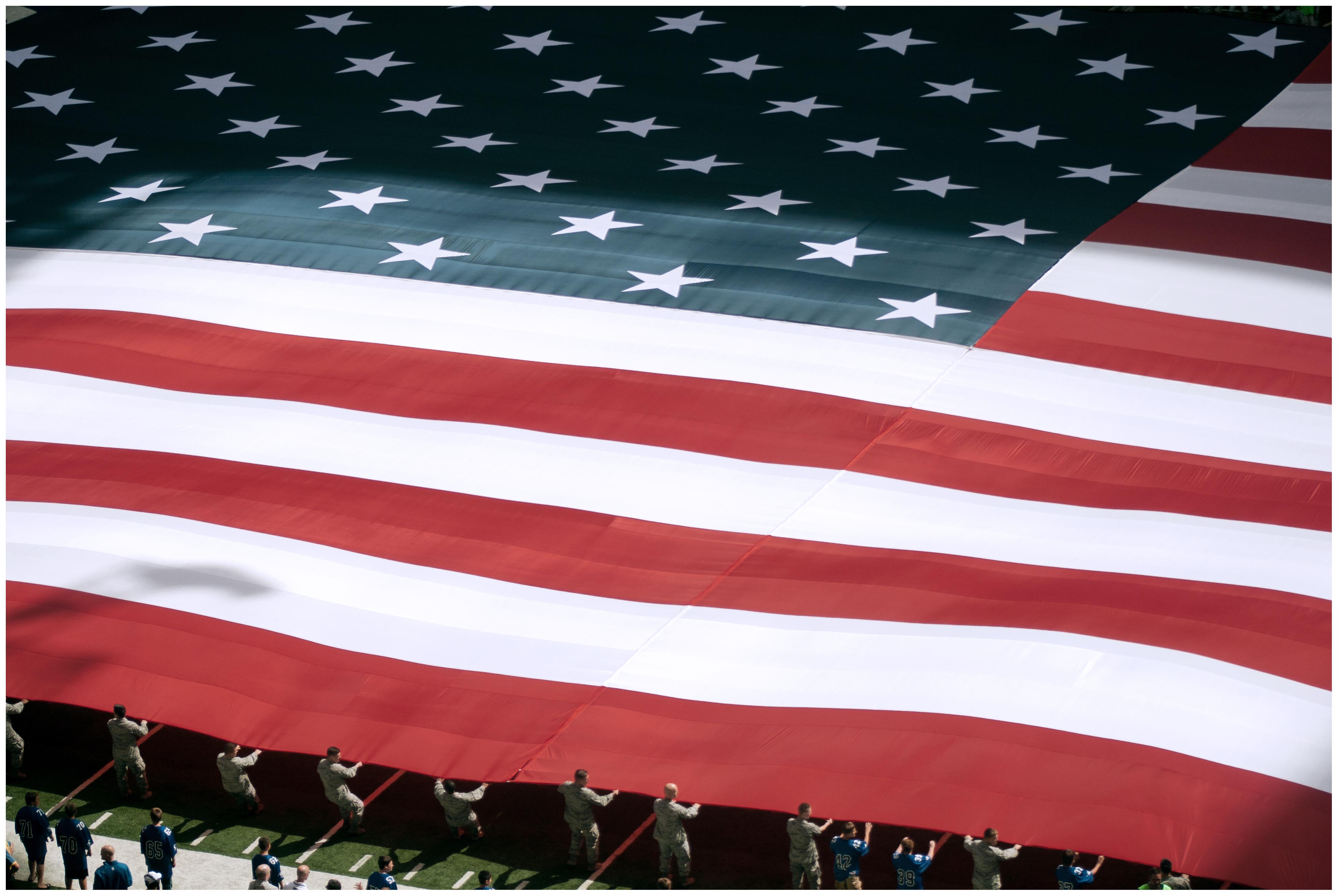 デスクトップ壁紙 赤 アメリカ合衆国 スタジアム 米国の国旗