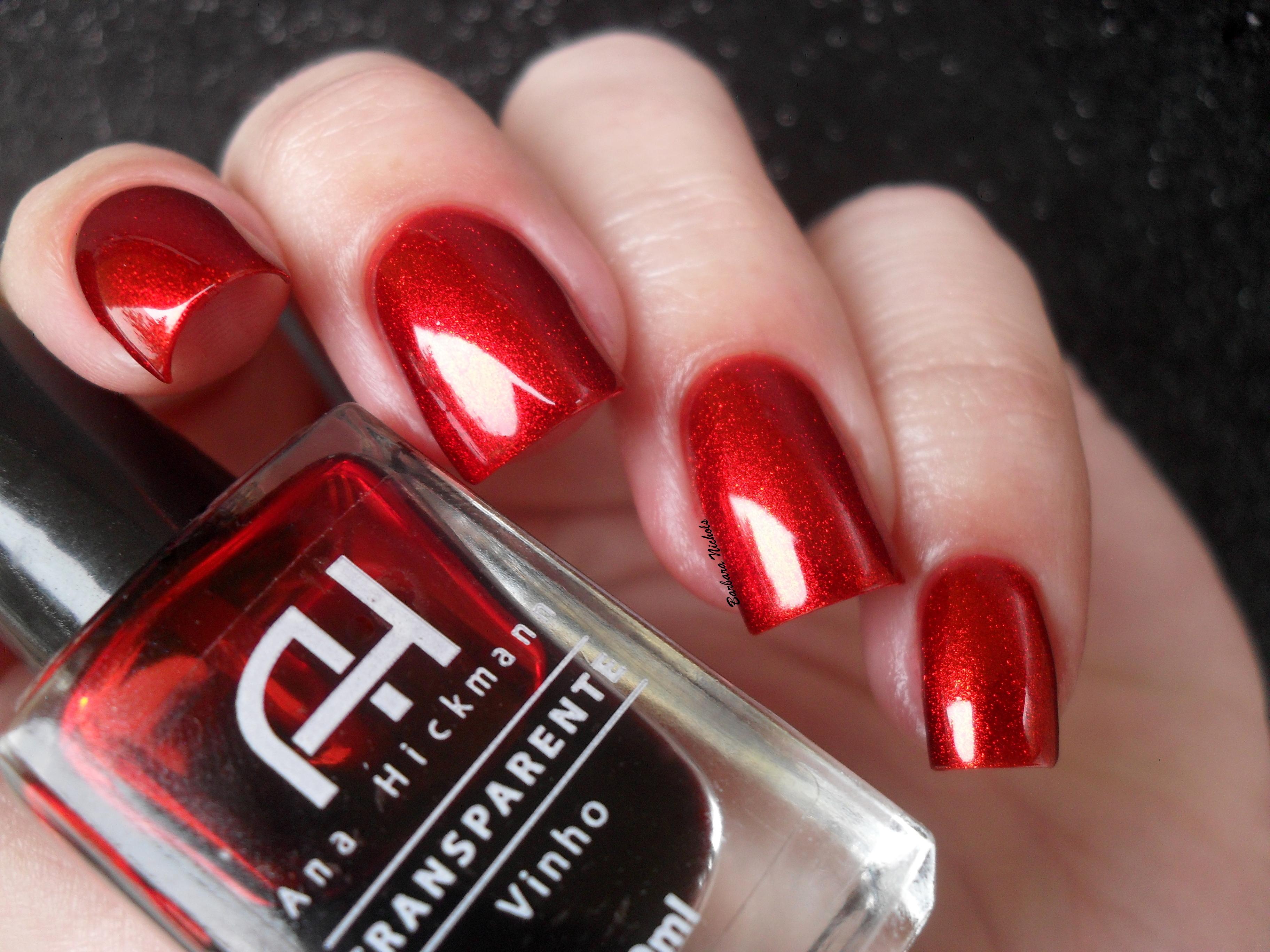 Red Gold Nails Hand Nail Finger Cosmetics Nailpolish Dourado M Os Vermelho Polish Risque Rednailpolish