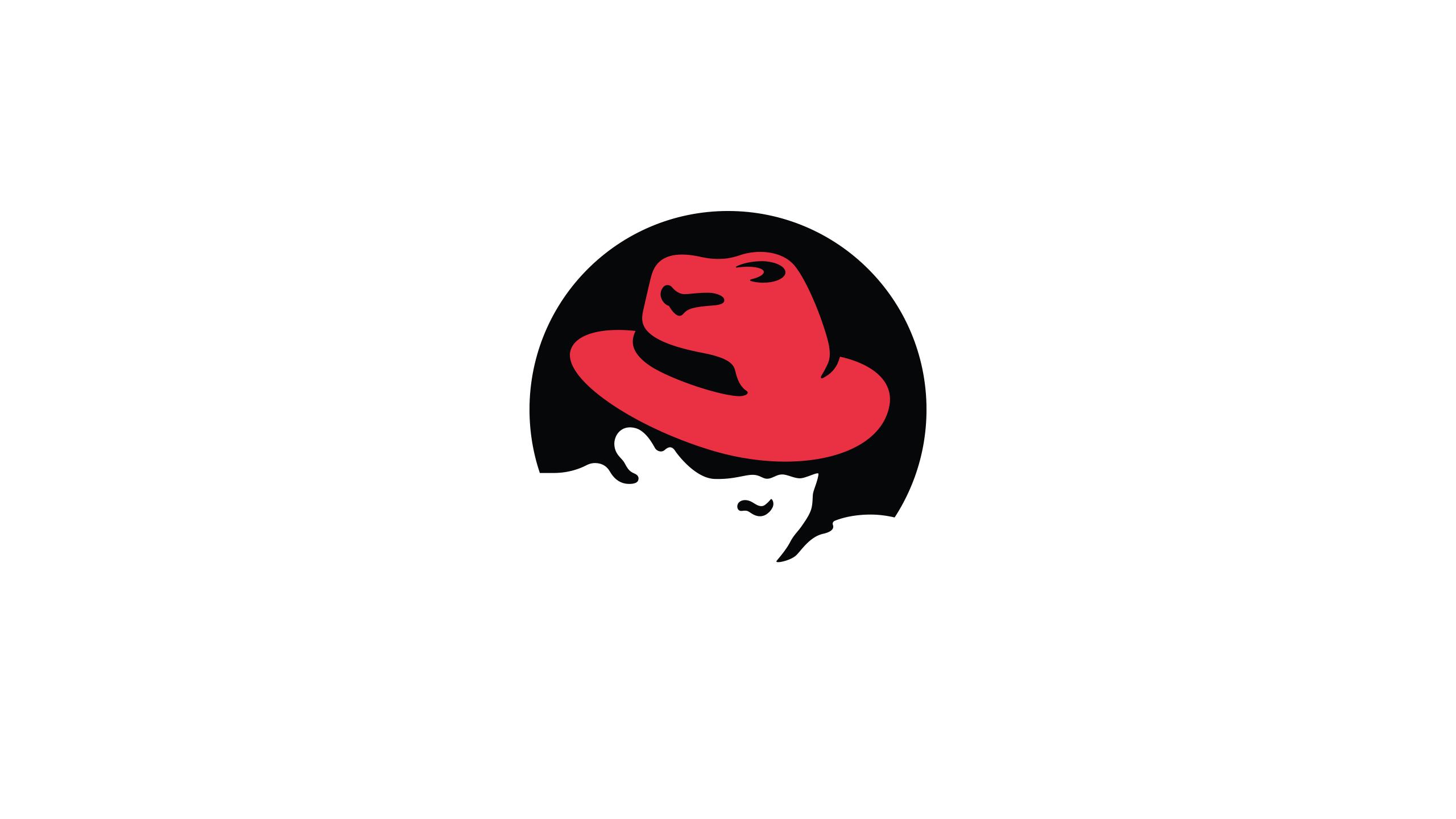 wallpaper red hat logo cartoon moustache red hat