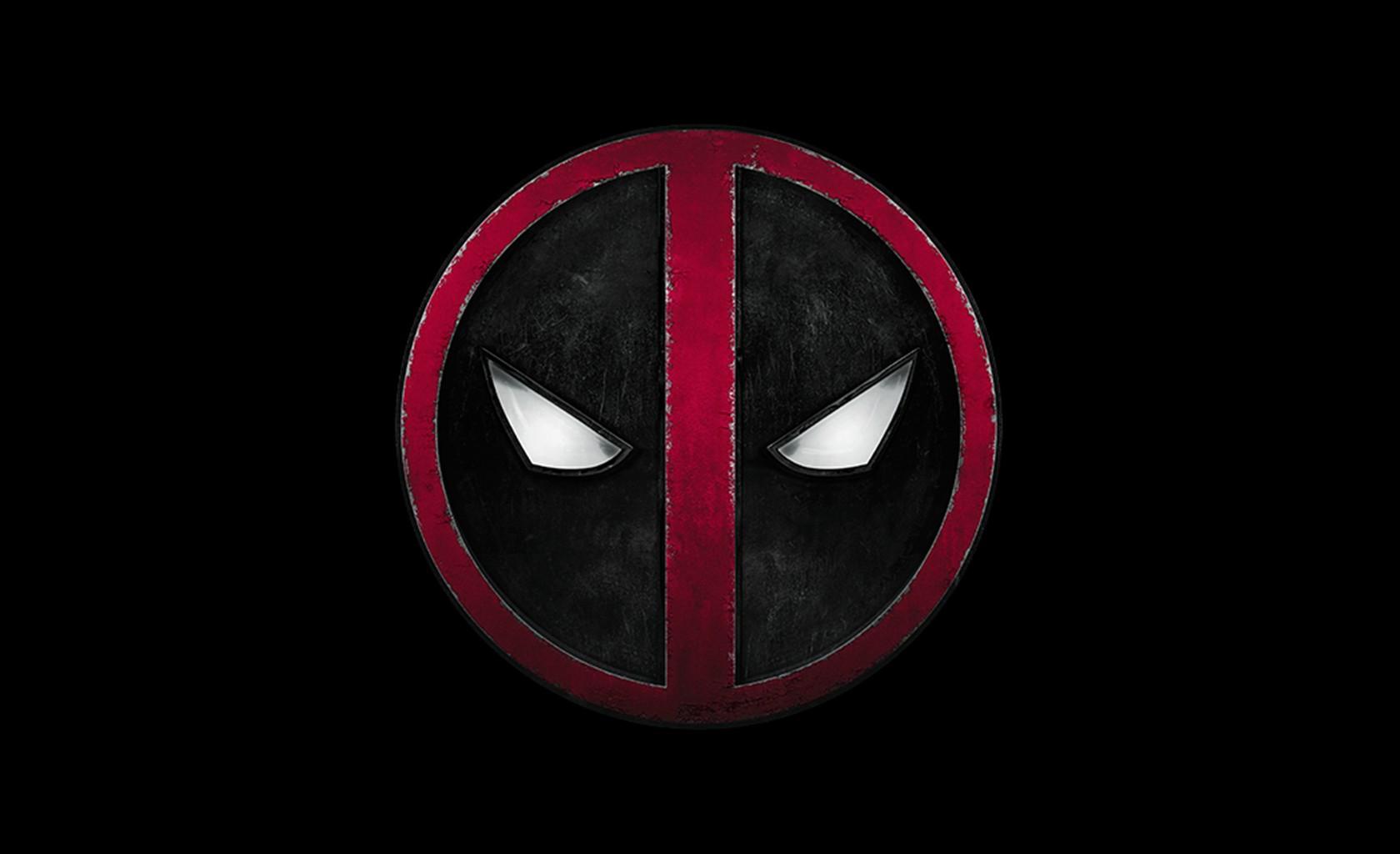 Wallpaper : red, logo, Deadpool, darkness, symbol, emblem