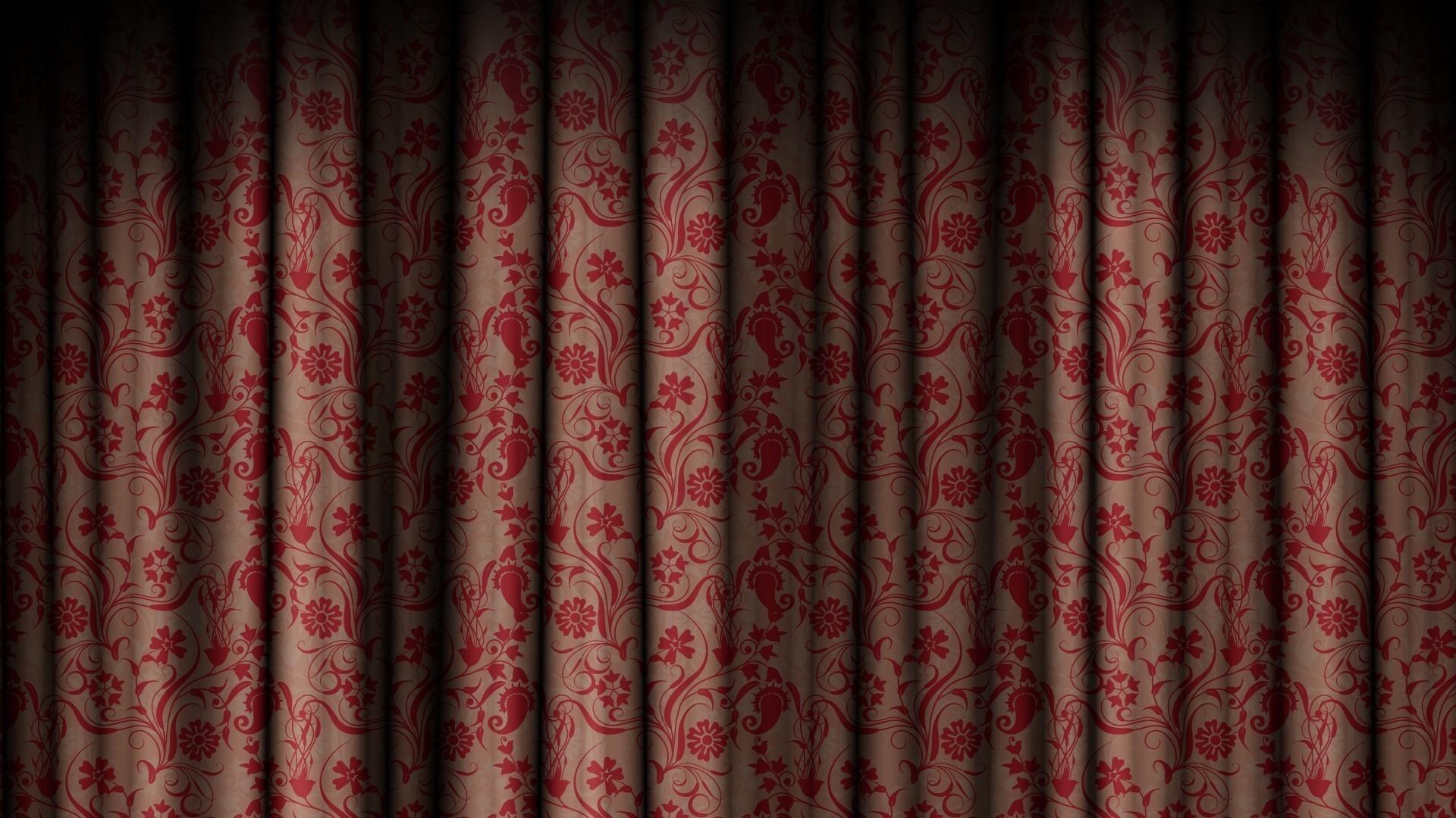 Hintergrundbilder : rot, Muster, Vorhang, Textur, Innenarchitektur ...