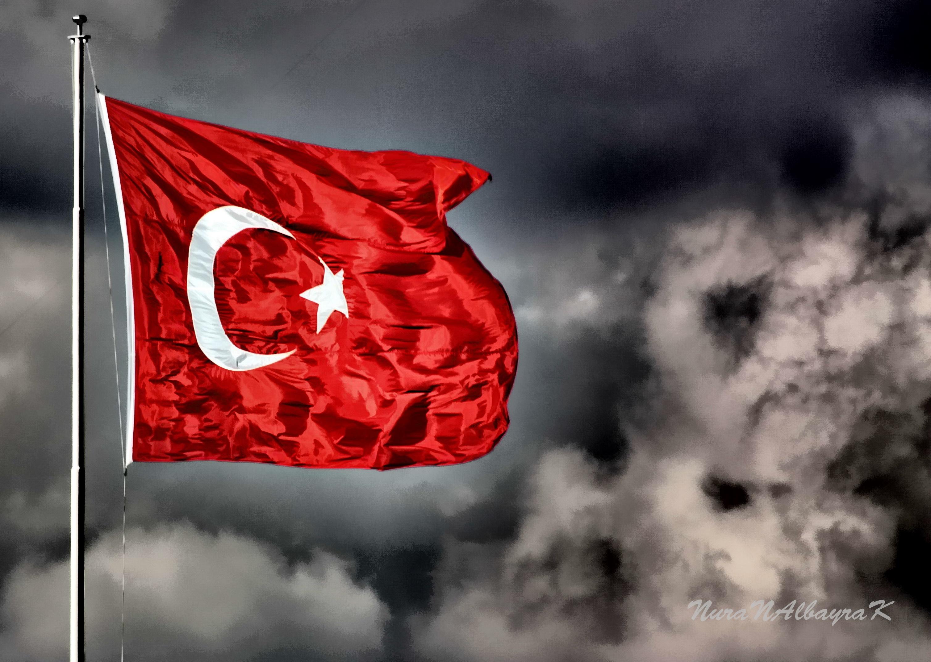 Red Sky Flag Turkey Petal Thebestofday G N Neniyisi Computer Wallpaper Black And White Enstantane Still Life