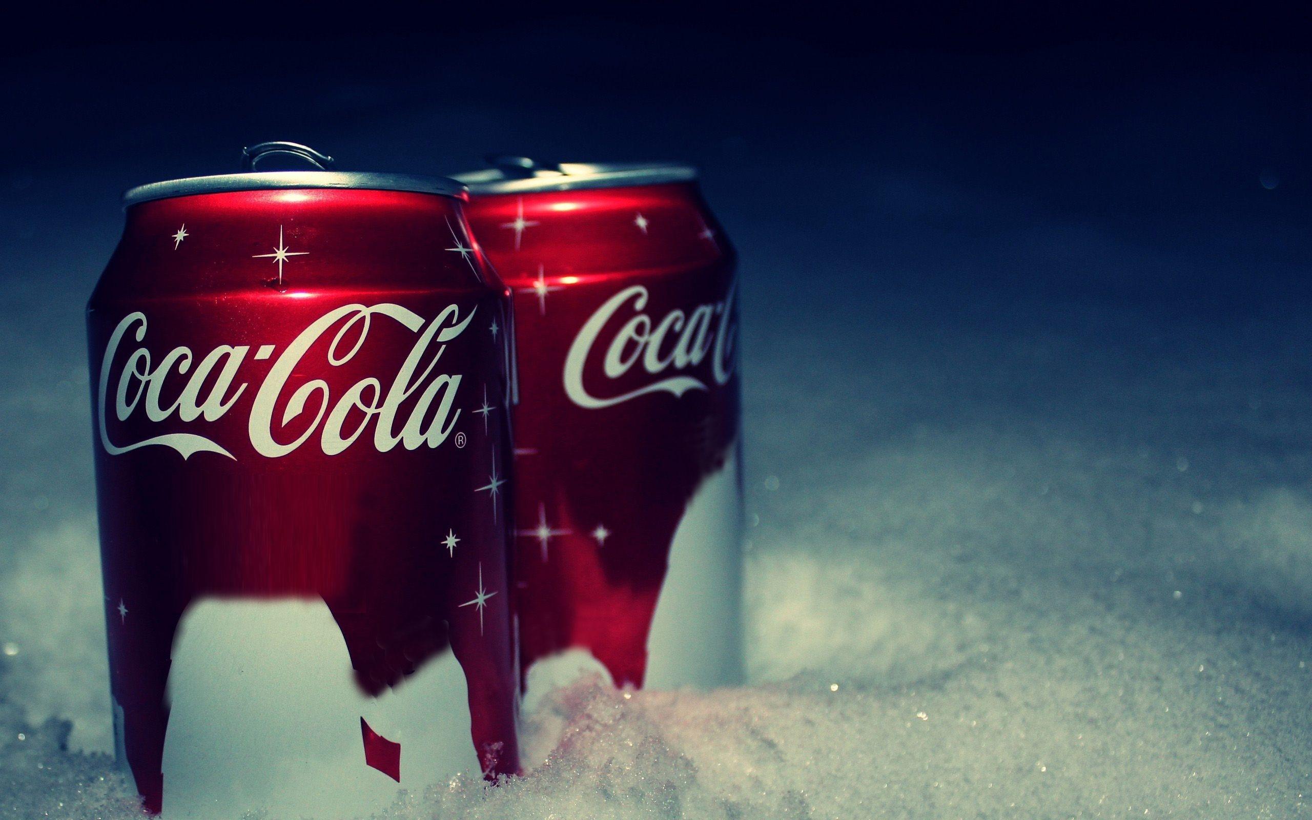 Sfondi Rosso La Neve Bere Coca Cola Nuovo Anno Marca Banca