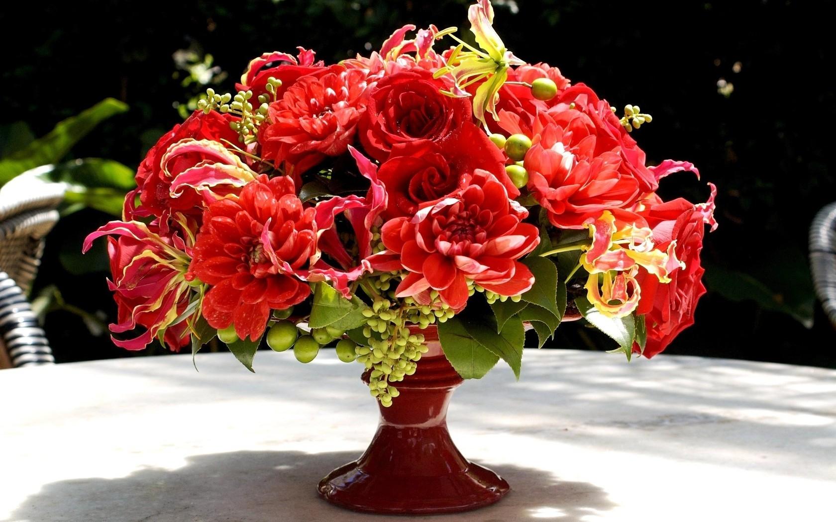hintergrundbilder rot tabelle rose rosa dahlien blume sch nheit flora rosen strau. Black Bedroom Furniture Sets. Home Design Ideas
