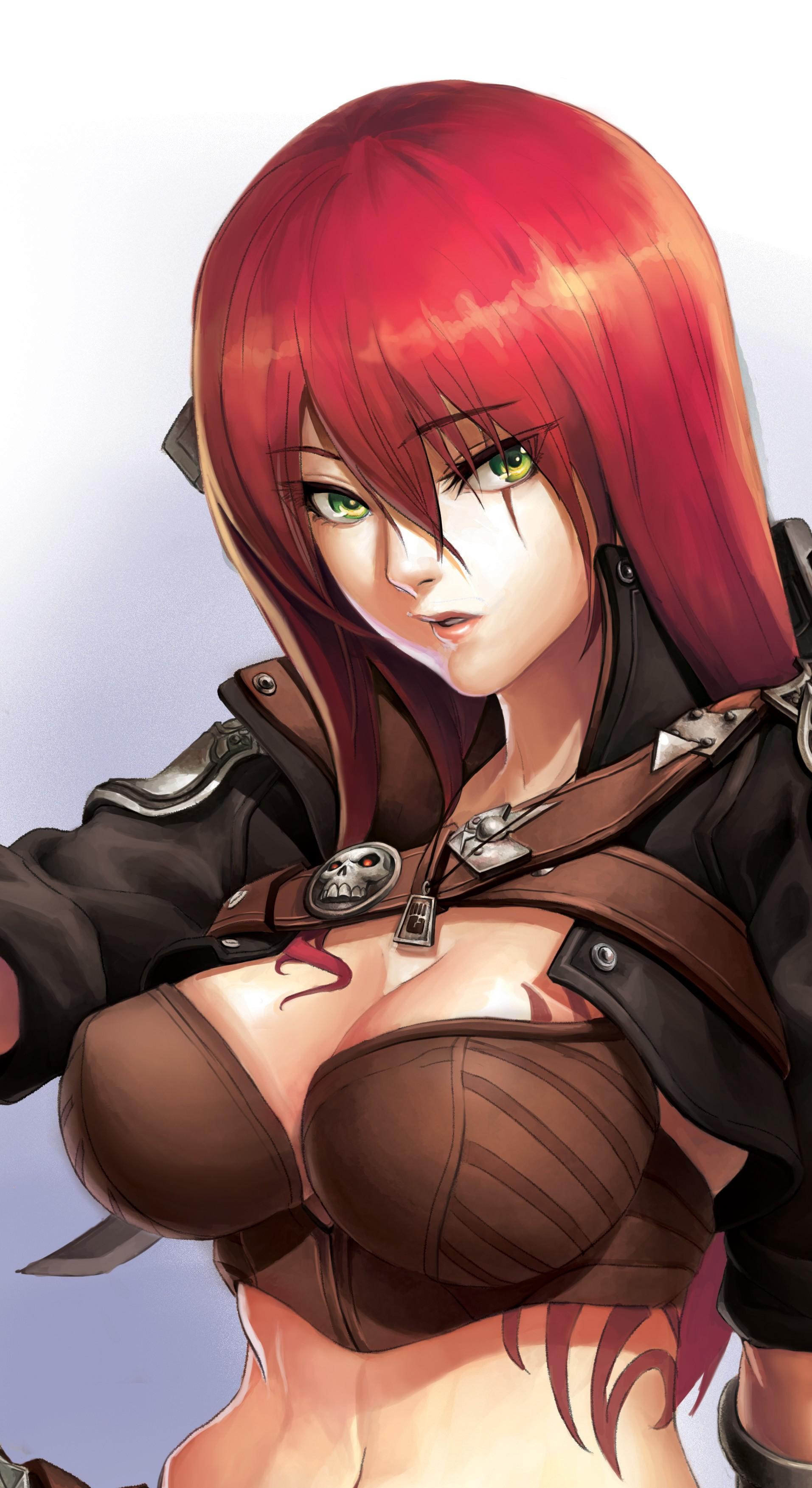 Wallpaper : redhead, anime girls, League of Legends